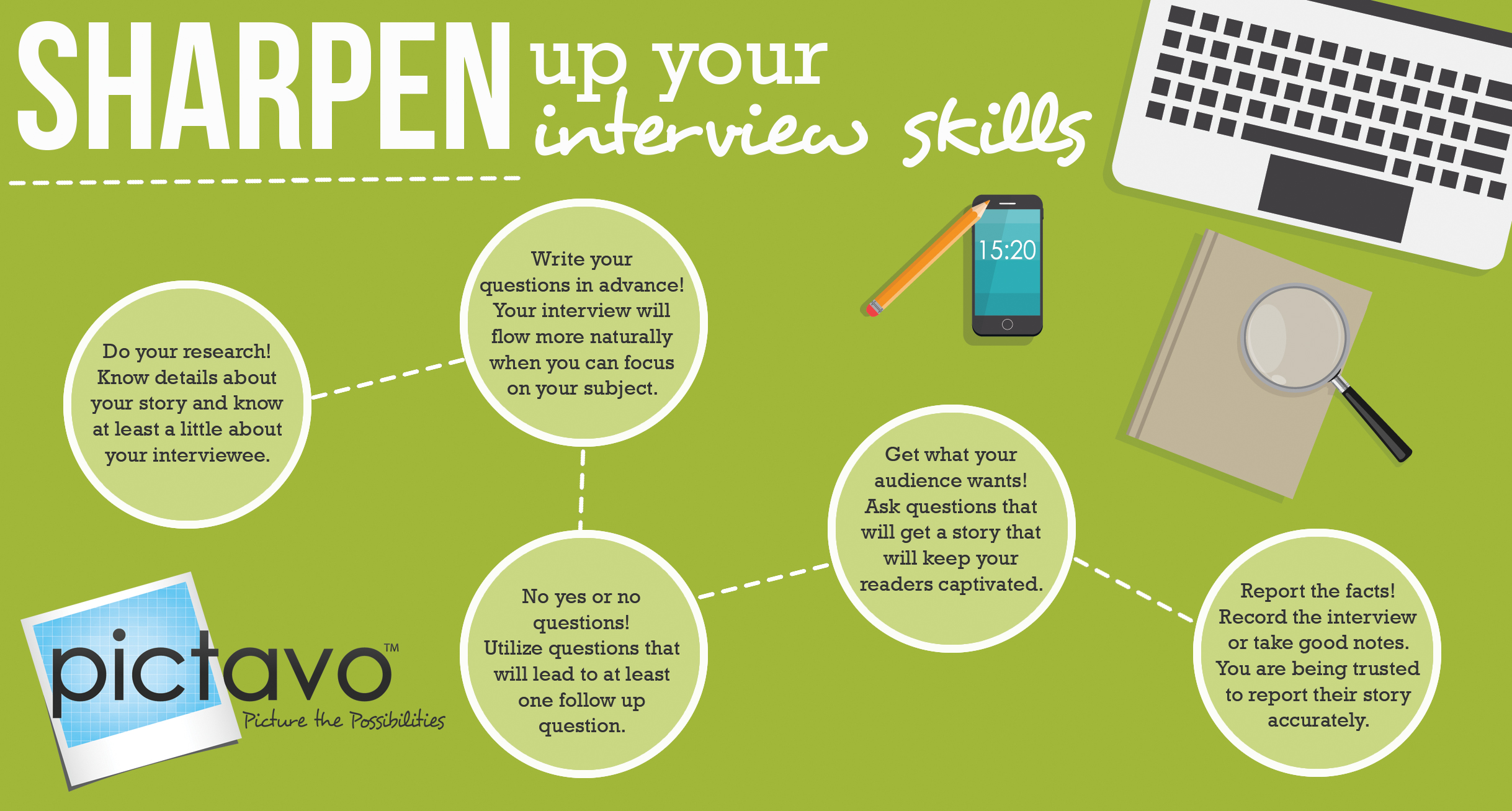 Deliver great content for your yearbook with these pointers from Pictavo!