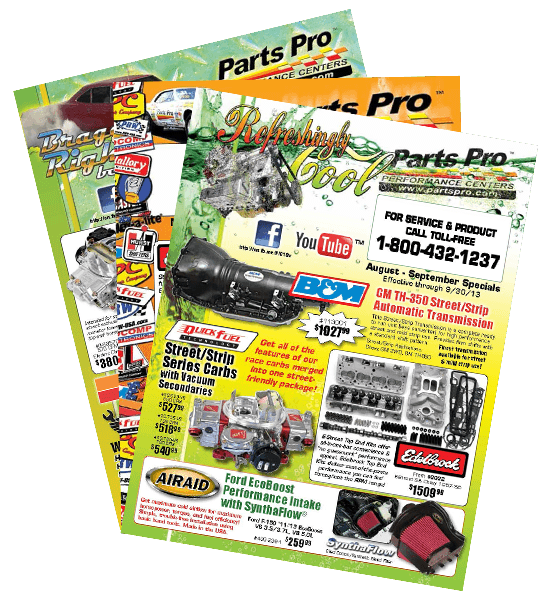 Click for current Parts Pro Flyer/Tabloid