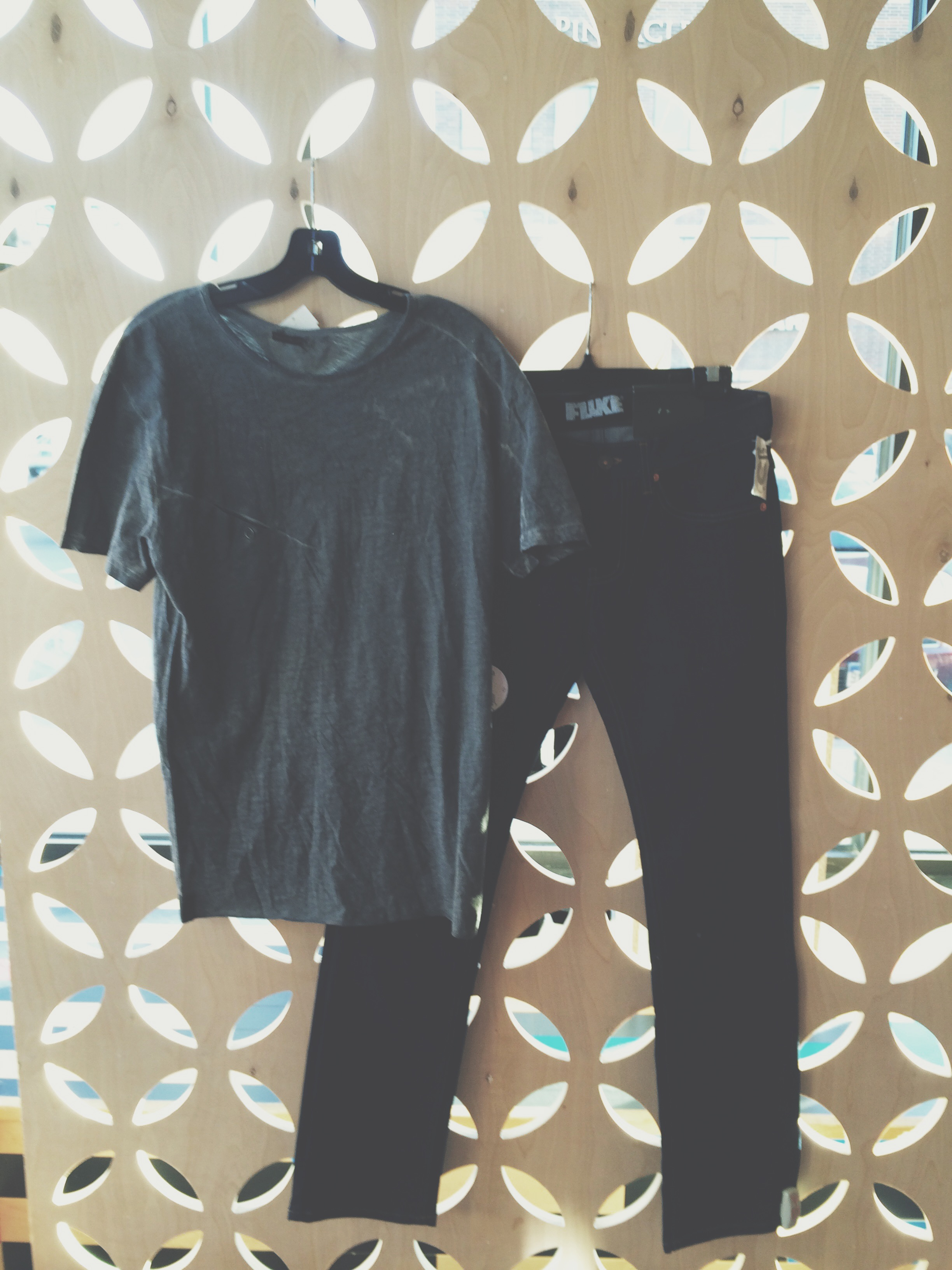 We always need good, gently worn, basic men's tee's. A good dark wash denim is most desirable on our floor, it doesn't have to be a skinny jean, we're also looking for a good straight leg.