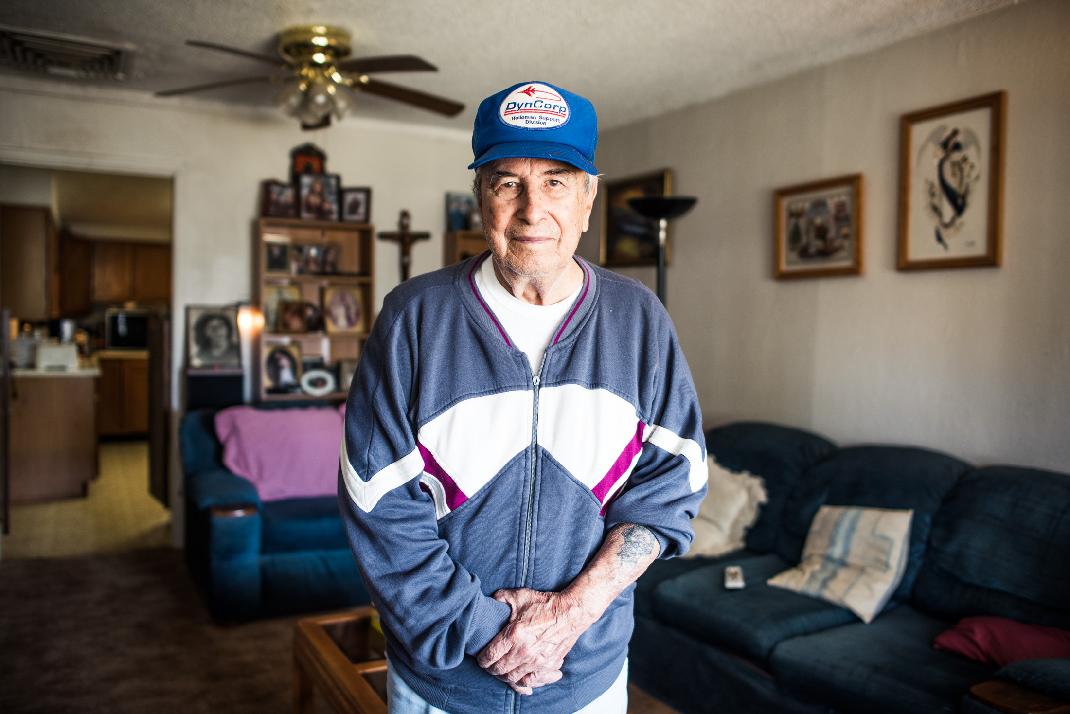 Where many of my family left for California, my second cousin David Marujo remained,working until his retirement at Holloman Air Force base.