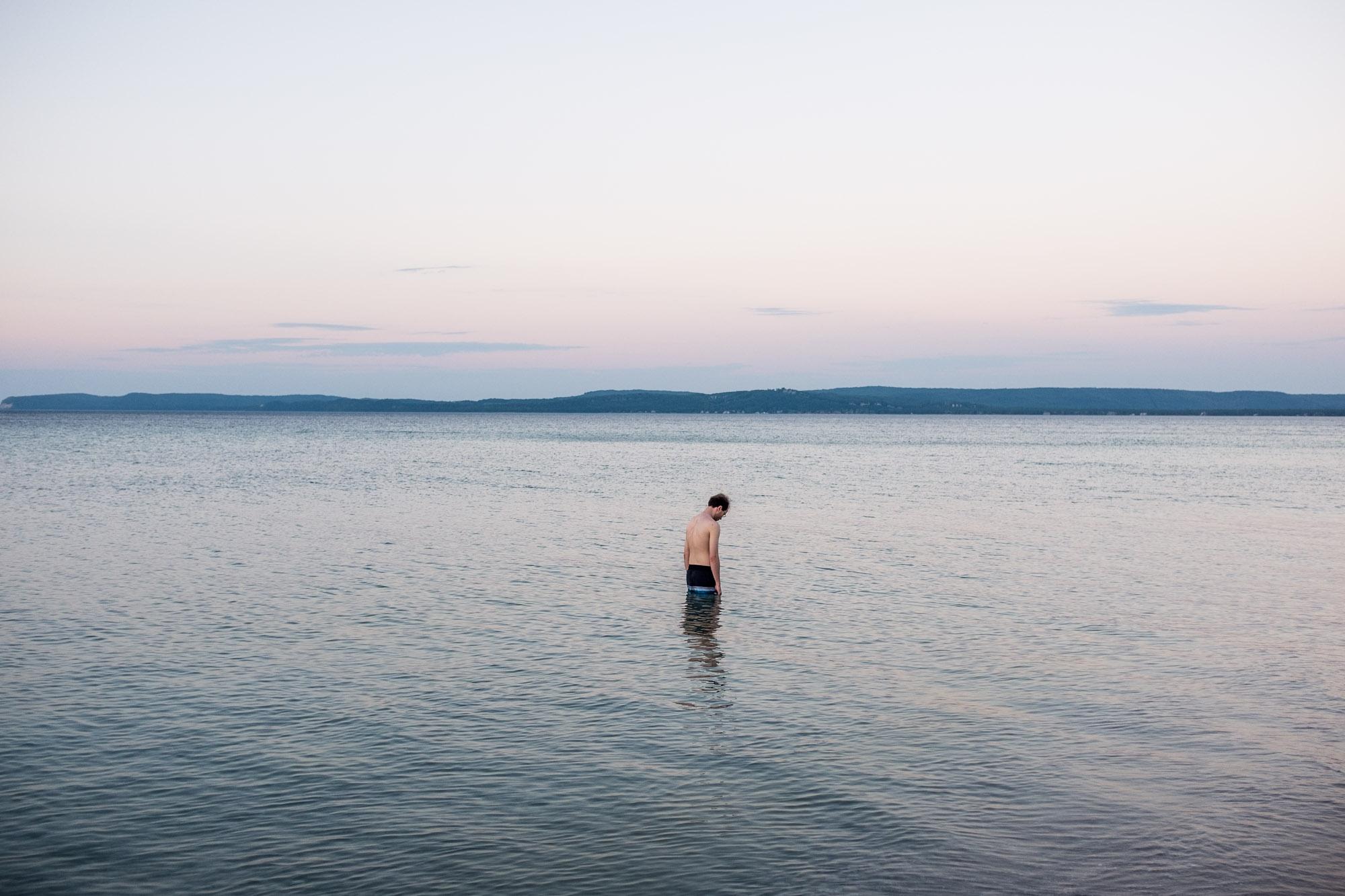 Sleeping Bear Bay,Lake Michigan