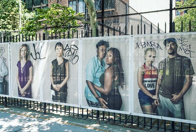 Here's a look at what happened to my Neighbors Project in Downtown Manhattan several weeks after it was installed last May. What do you think? Was my work defaced? Or did it become a community collaboration? Check out the link in my bio to hear more of my thoughts on this! #johnmireles #photo #photography #photographer #contemporaryart #contemporaryphoto #contemporaryphotographer #portrait #portraiture #portraitphotography #installationart #publicart #newyork #nyc #downtown #manhattan #newyorkcity #streetart #streetartist #graffiti #streetartnews #streetarteverywhere #streetartglobe #nycart #nycartist #throwback #art #artist #creative #creatives