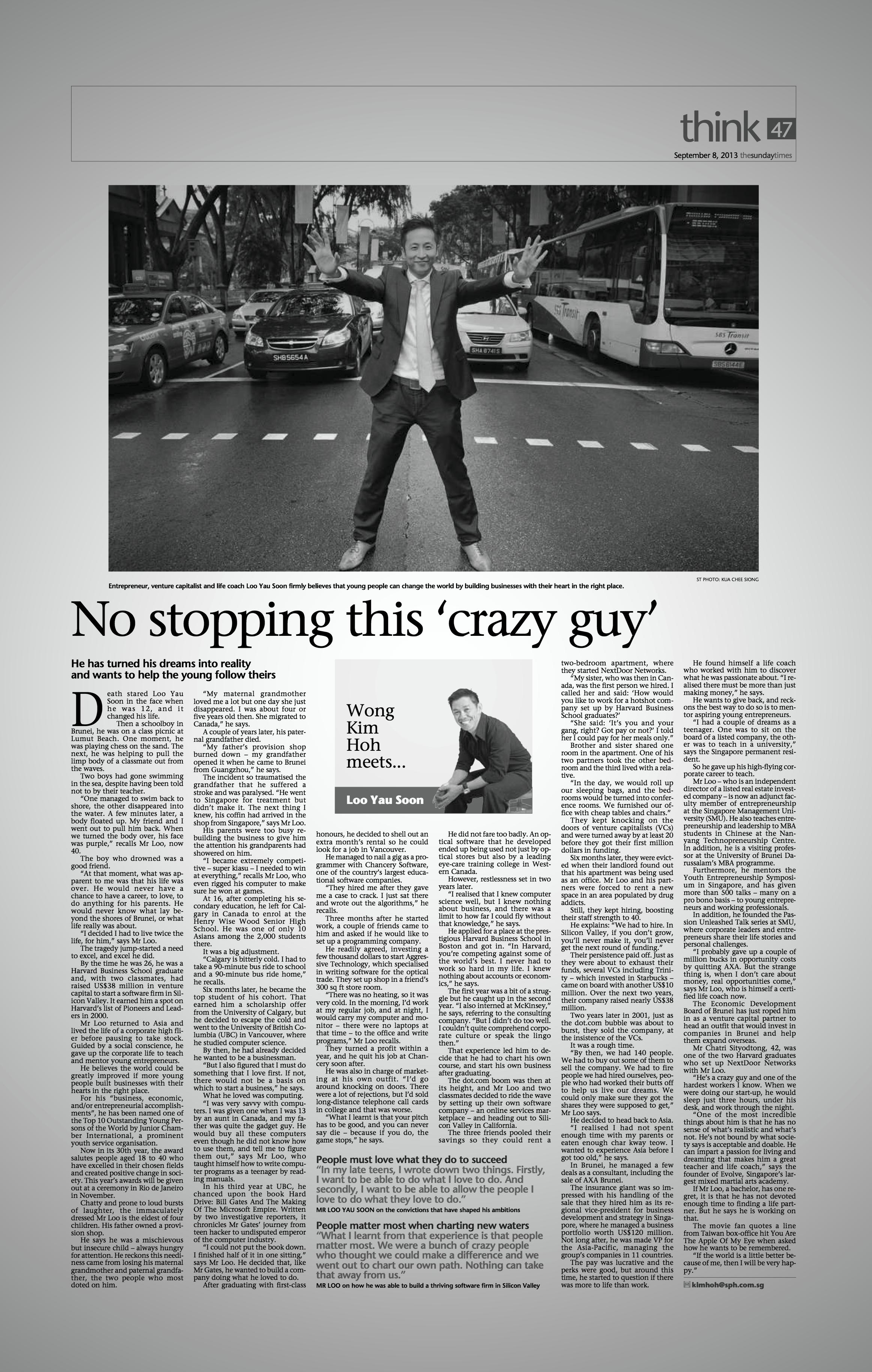 (3) Sunday Times, 2013