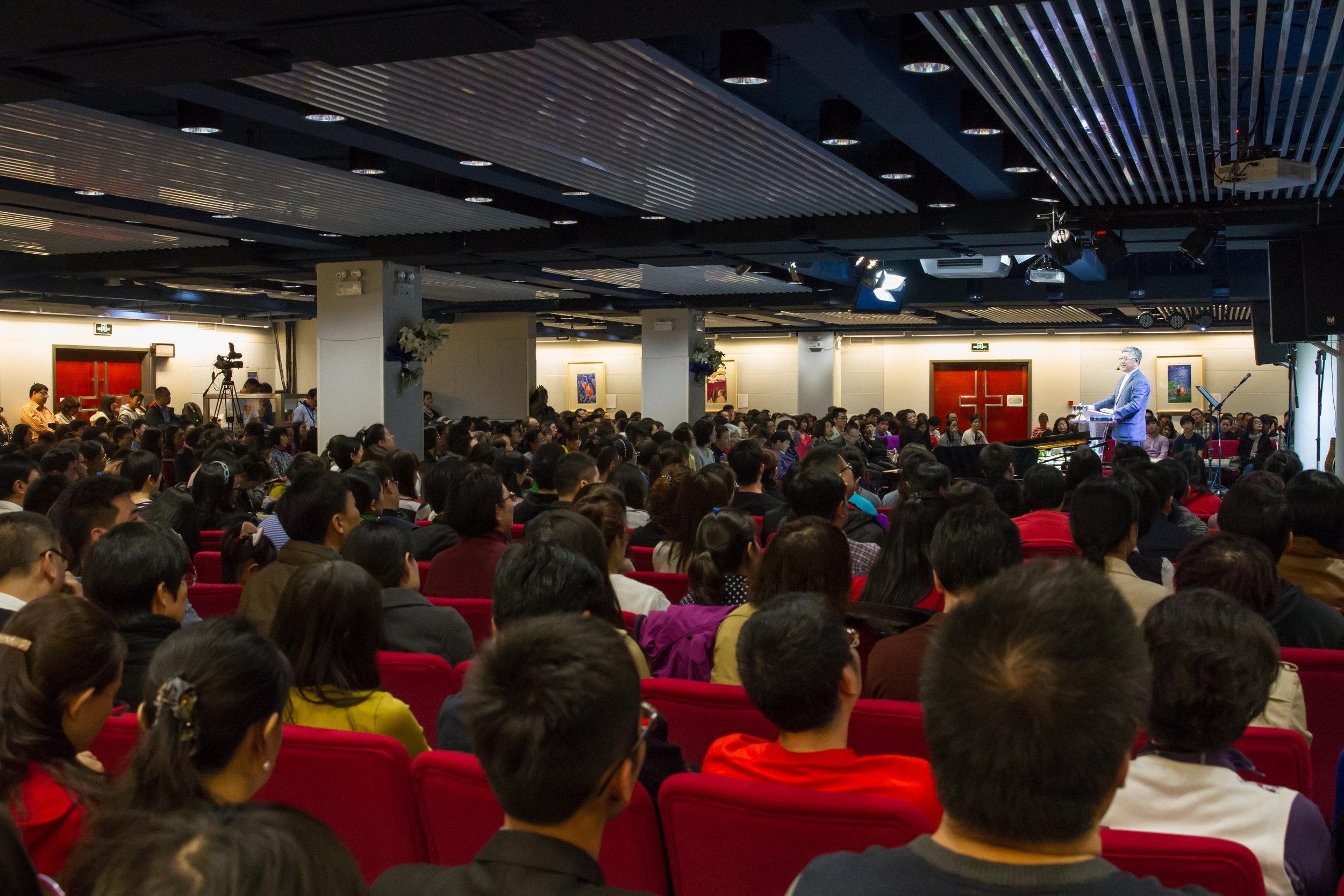 Sunday services, Zion Church Beijing