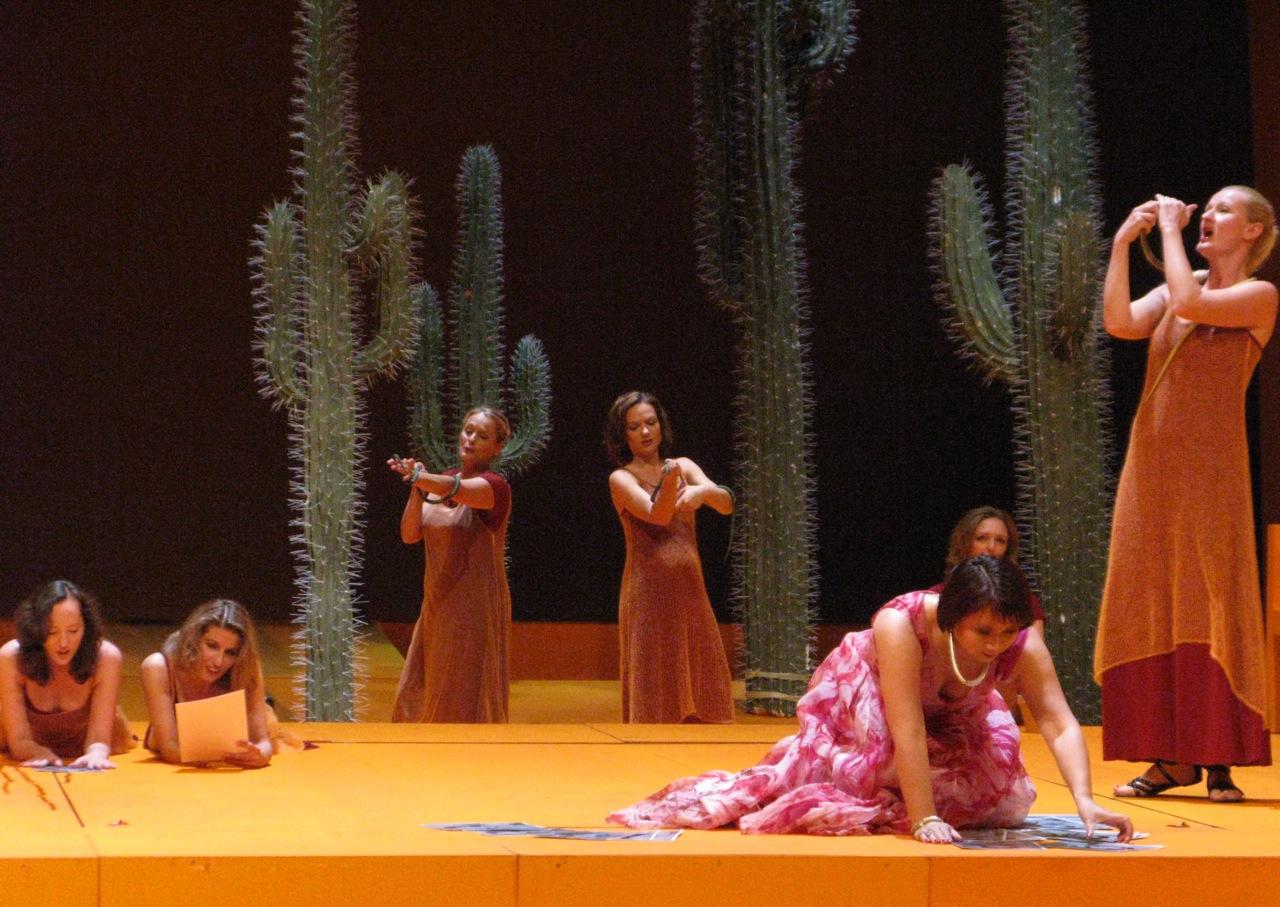 """""""Aida"""" Amneris, Chor der Sklavinnen"""