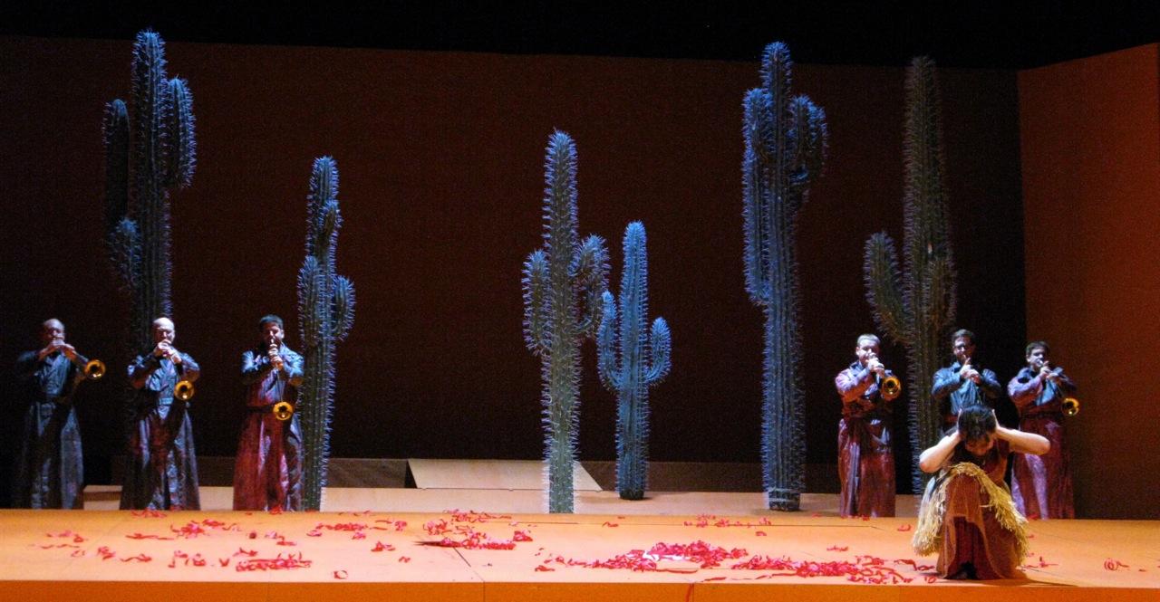 """""""Aida"""" Aida: Irina Rindzuner, Vorspiel 2. Akt"""