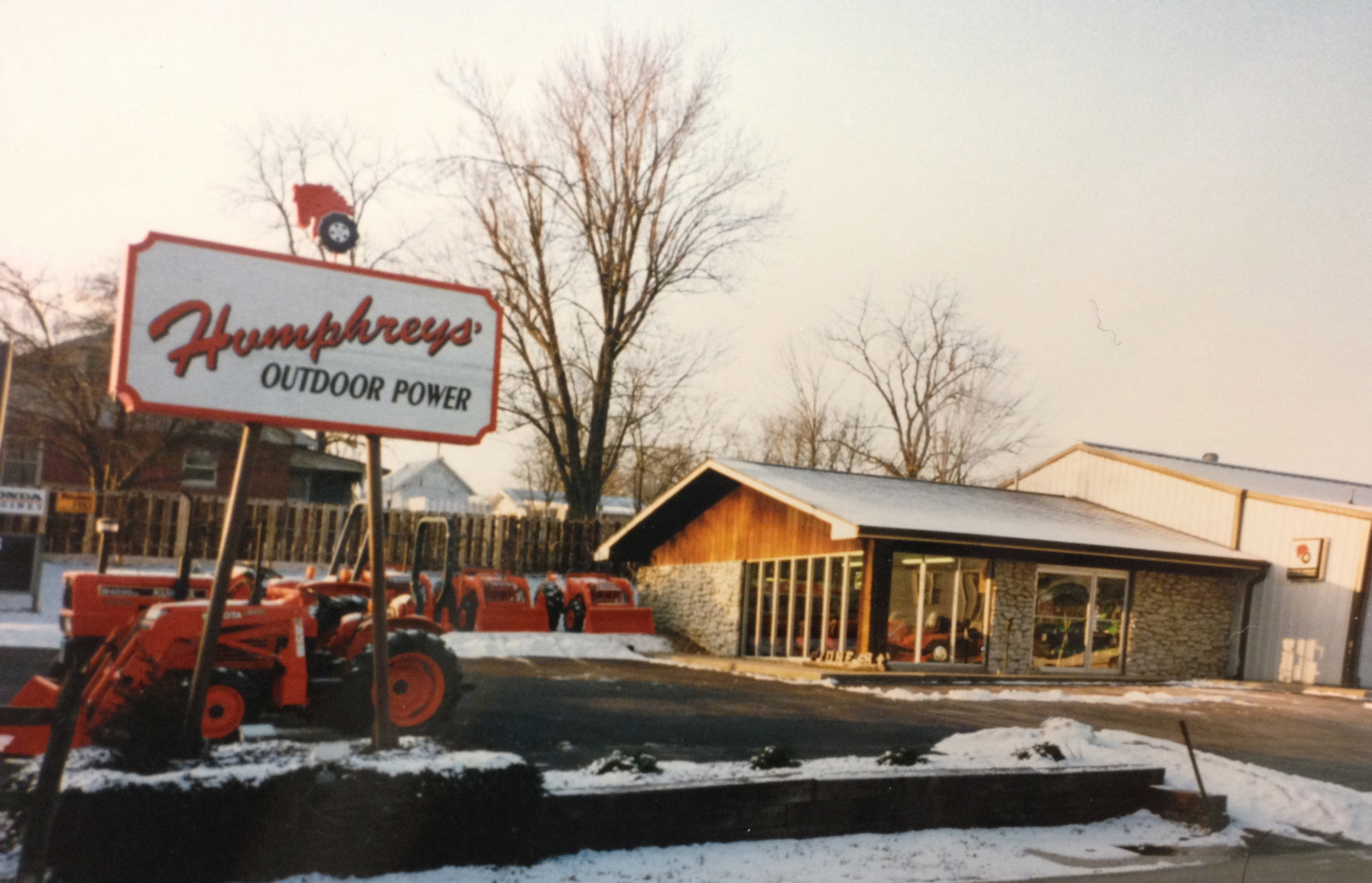 In the early 90s,  Humphreys' decided to change their name so they  could focus on a more broad range of brands. Enter Humphreys' Outdoor Power.