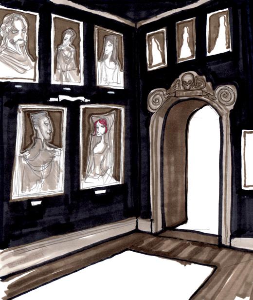 The Villains' Bureau: Designs