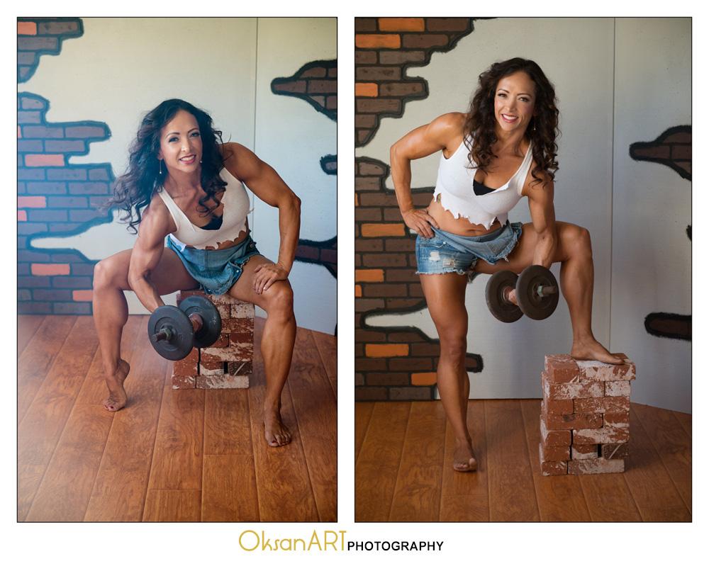 OksanART fitness photography
