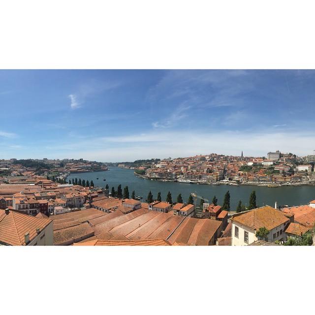 Villa Nova De Gaia, Portugal. View from the house. Wine. Good food. Music. Perfect. #prima #porto