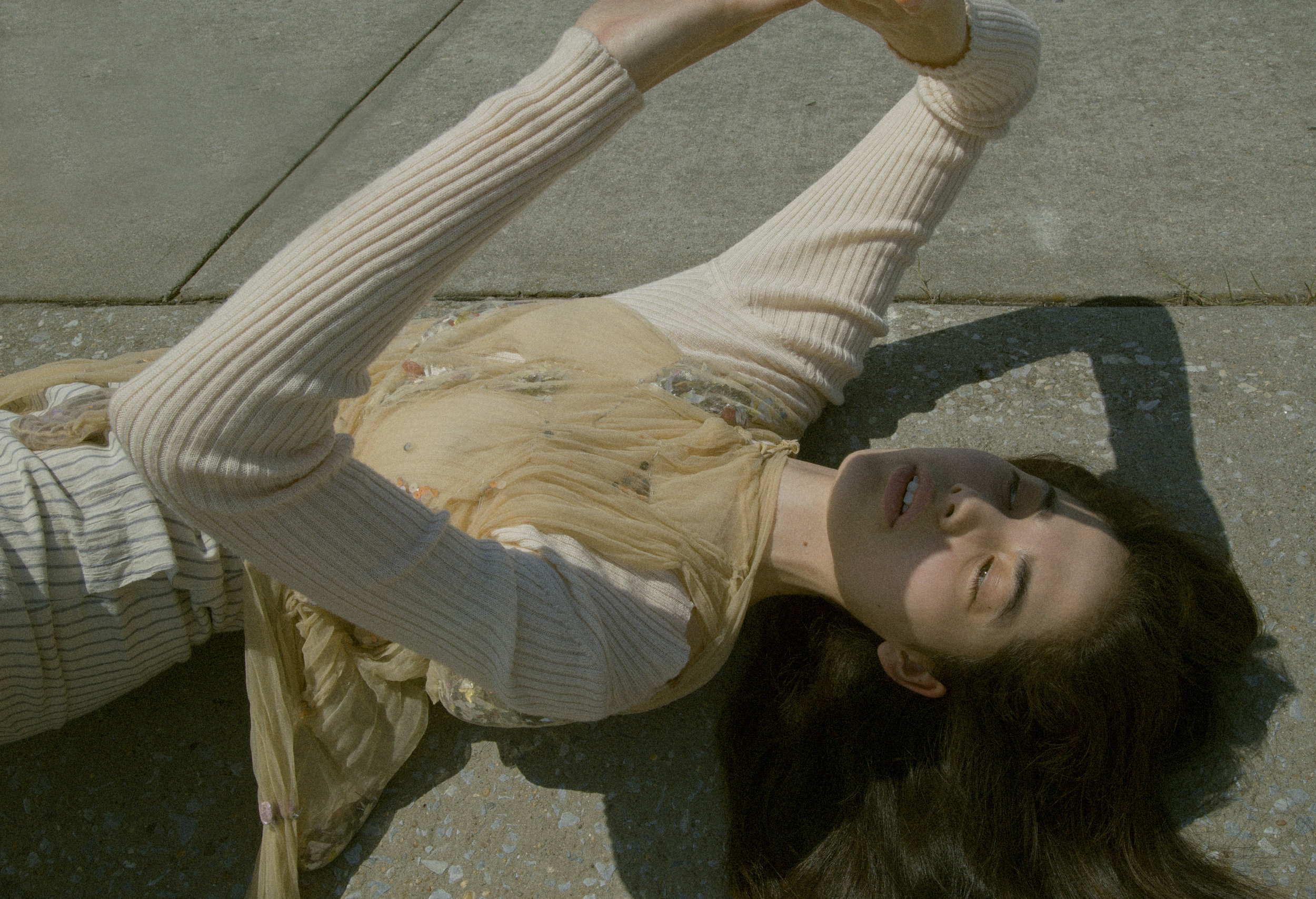 veda  knit sweater, sophie andes-gascon top, pants from  tV archive