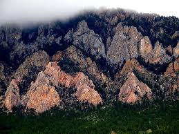 The Flatirons of Crazy Woman Canyon