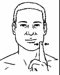 You can start by just deviating your jaw to the left or the right. As you get better, add some resistance with your hand.