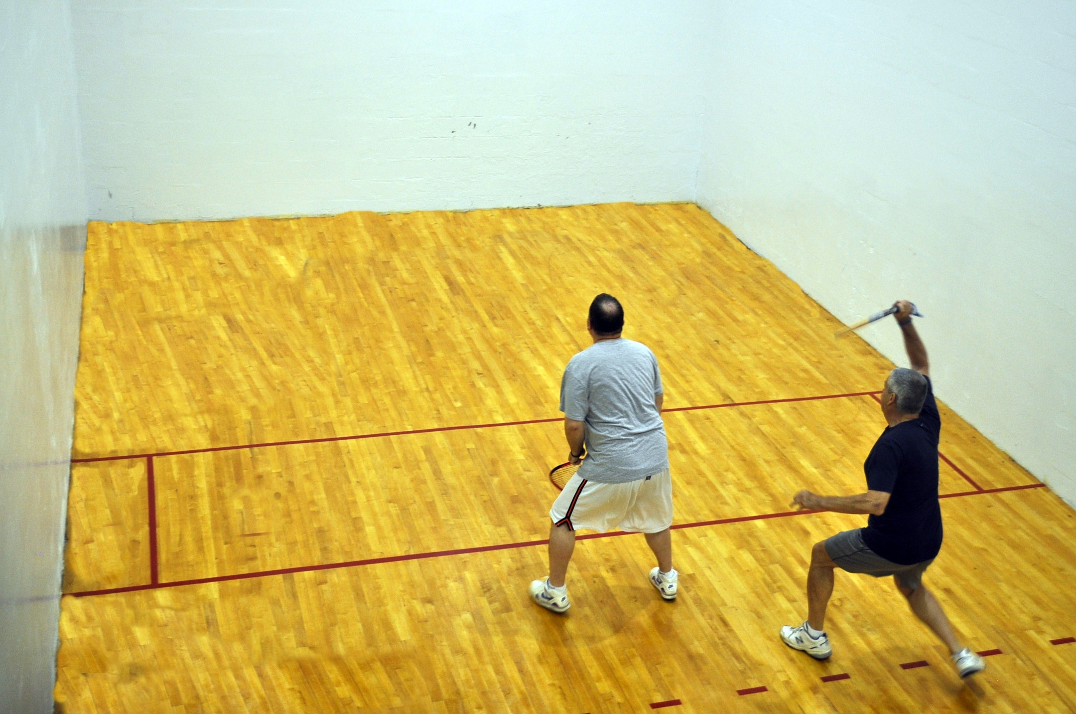 We also offer racquetball courts for fun and exercise!