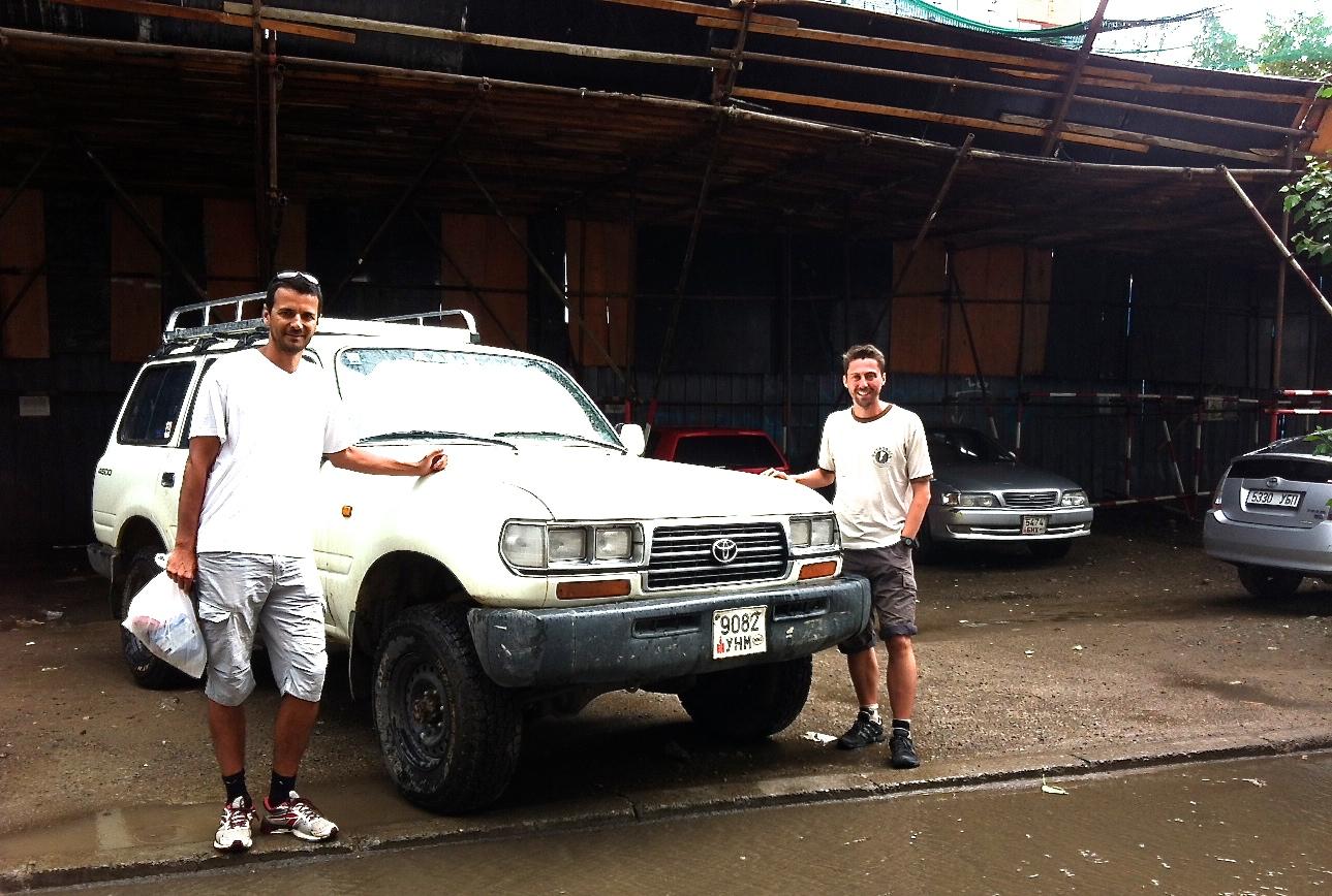 Toyota land cruiser 80, 13 days rental, ludovic bianic, france