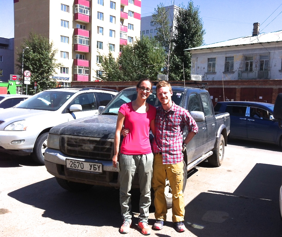 Thank you for Drive Mongolia providing such a reliable vehicle., Ford Ranger. Mongolian people are very helpful. had really great time in Mongolia. Patrick, Germany