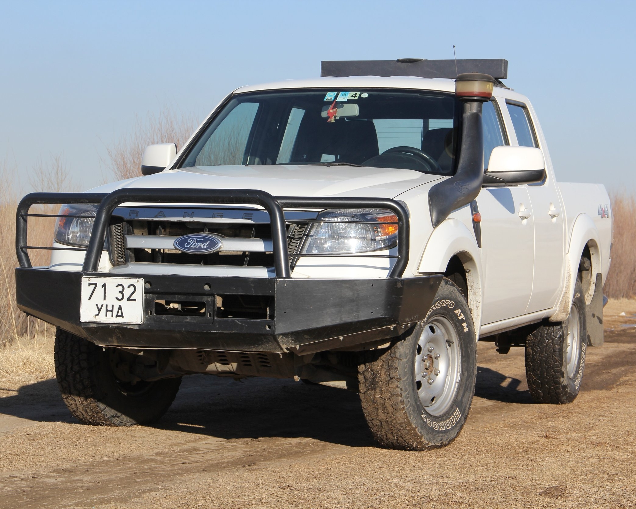 """FORD RANGER, 2011, MECHANIC, SUPPORT VEHICLE FOR A BIKE TOUR OR COMFORTABLE FOR 2 PAX.ALL OUR CARS ARE EQUIPPED WITH """"ARB"""" BUMPER AND WINCHES. WE'LL PROVIDE TWO EXTRA TIRES. ROOF TENTS ARE OPTIONAL AND IT CAN BE INSTALLED IN EVERY VEHICLE.AND WE HAVE """"LUGGAGE STORAGE SERVICE"""" WITH FREE OF CHARGE."""