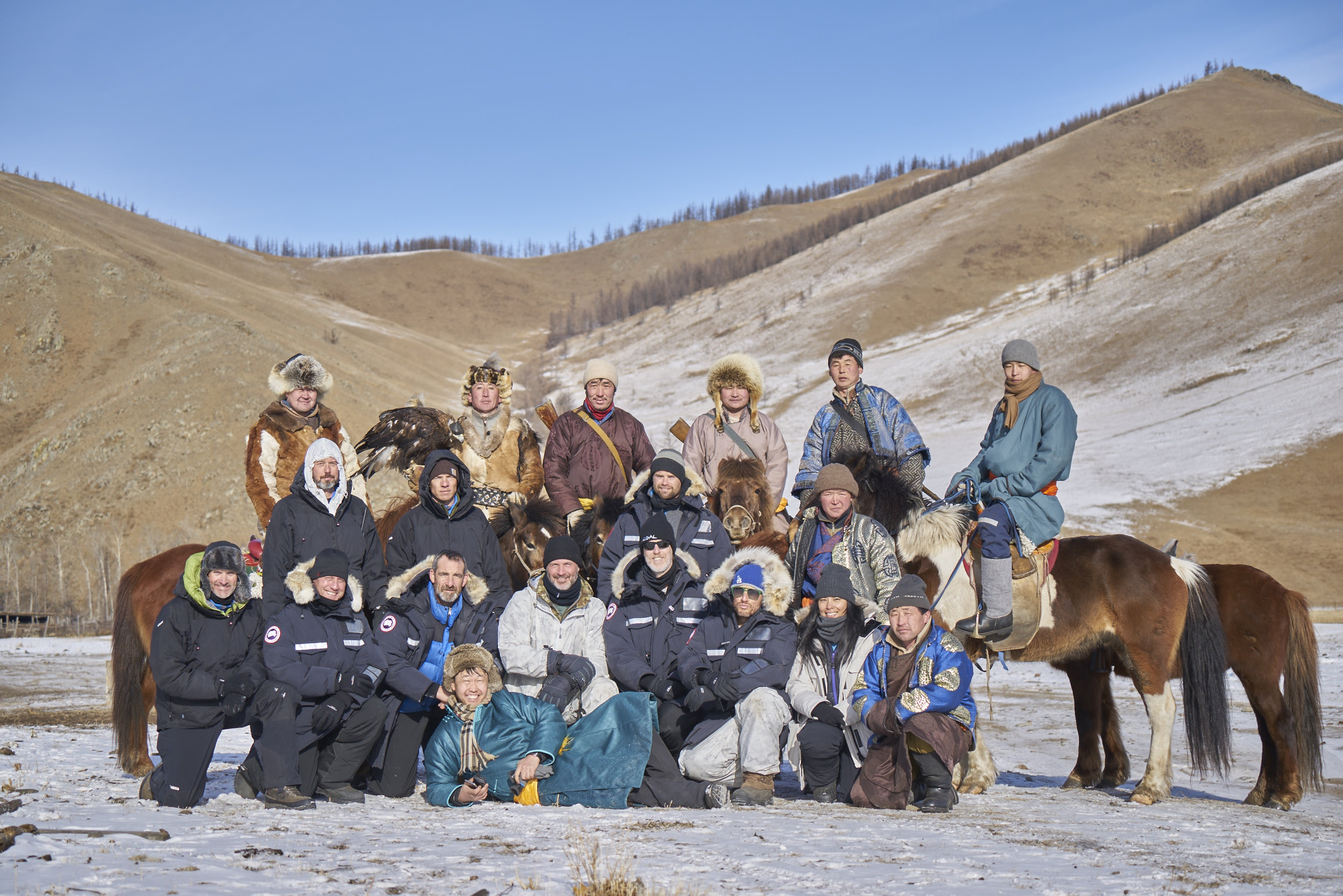 MONGOLIAN WINTER CLOTHES