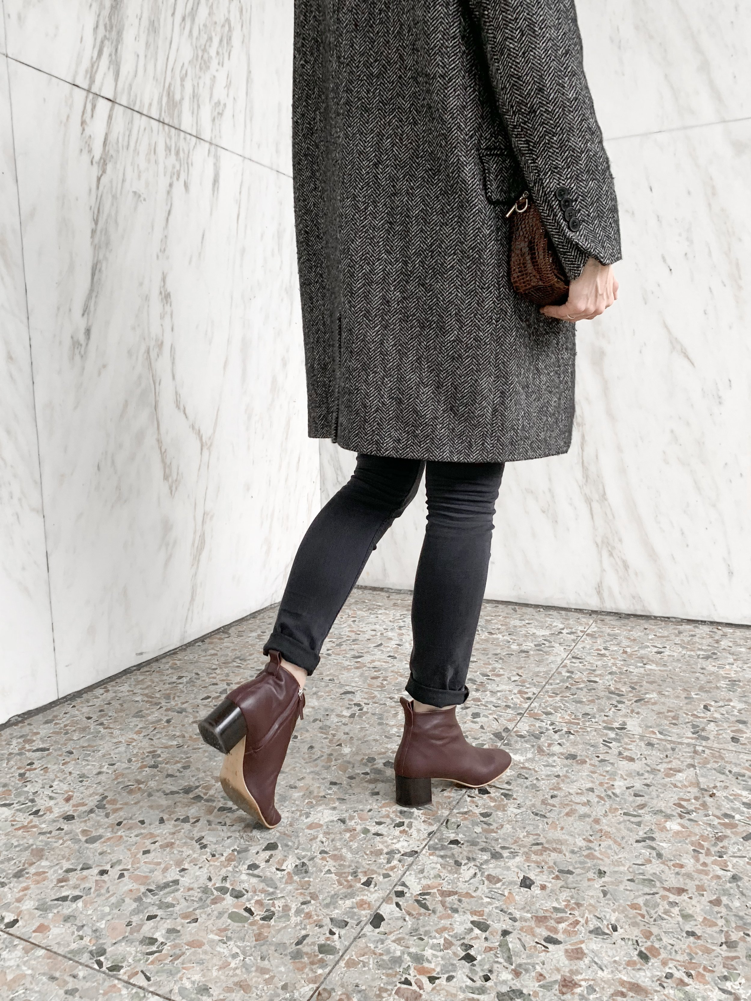 review: the day boot from everlane