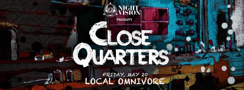 Night Vision at Local Omnivore in Edmonton