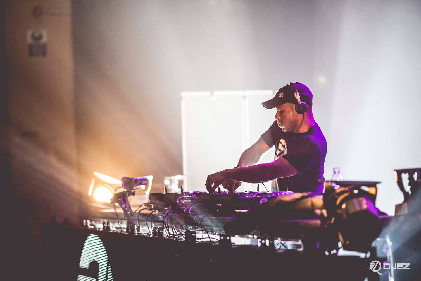 DJ EZ pictured at the O2 Academy, Brixton