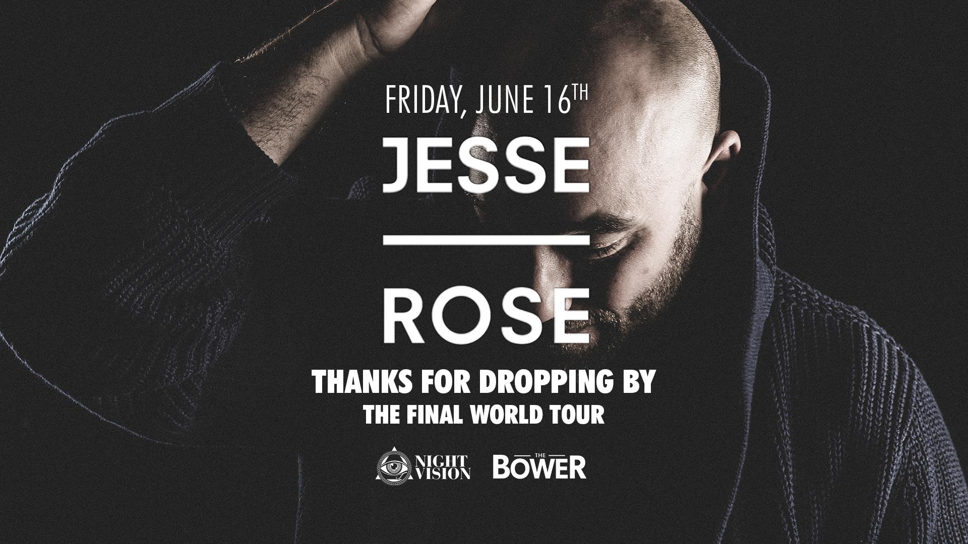 Jesse Rose in Edmonton