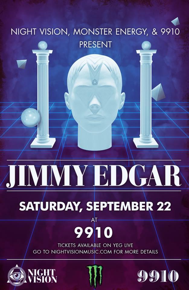 Jimmy Edgar in Edmonton