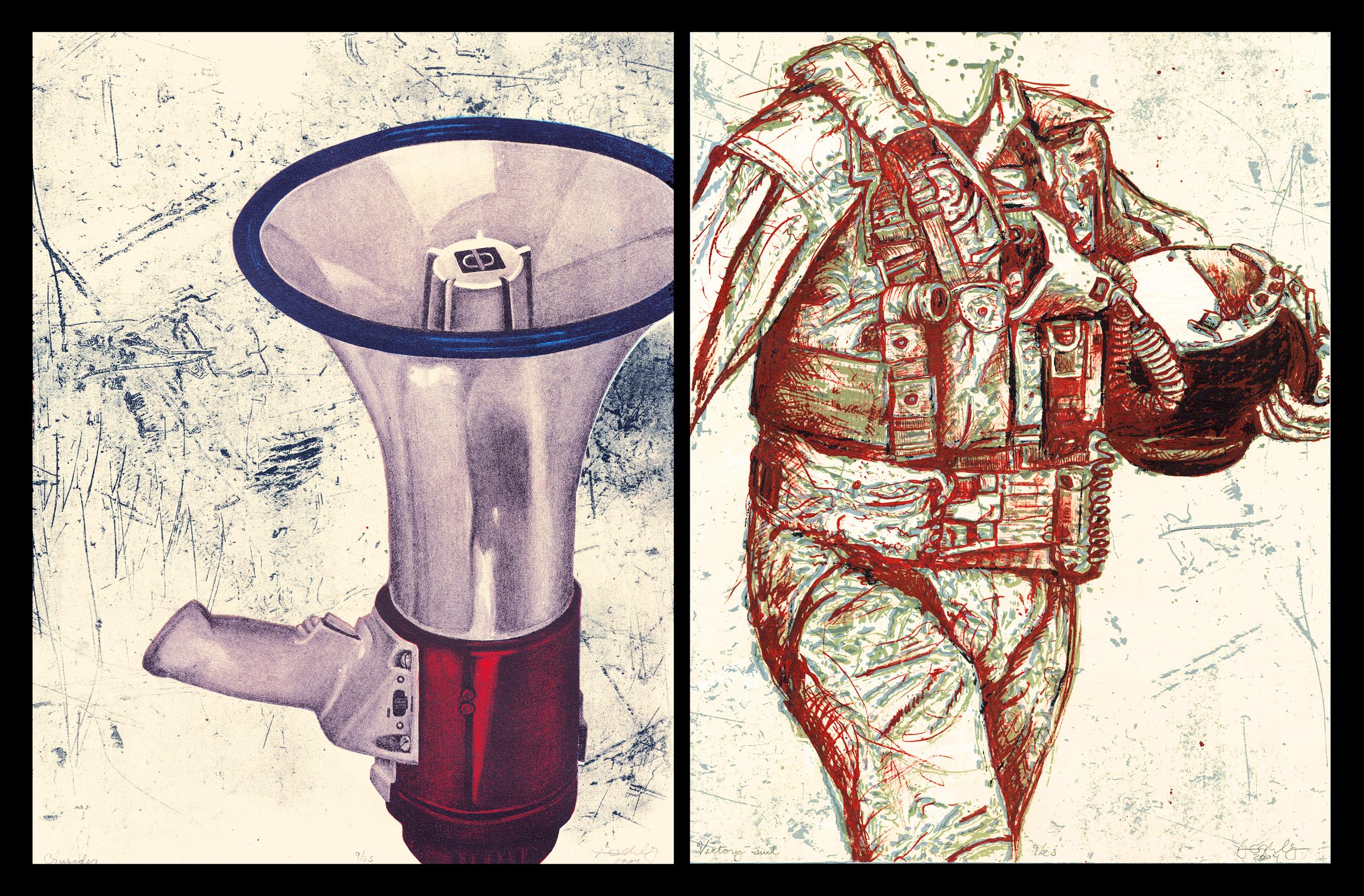 Crusader/Victory Suit: Language of Deceit