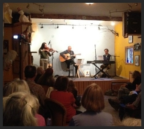 Click the image to watch aperformance featuring guest musicianTracy Spring, August 2013.