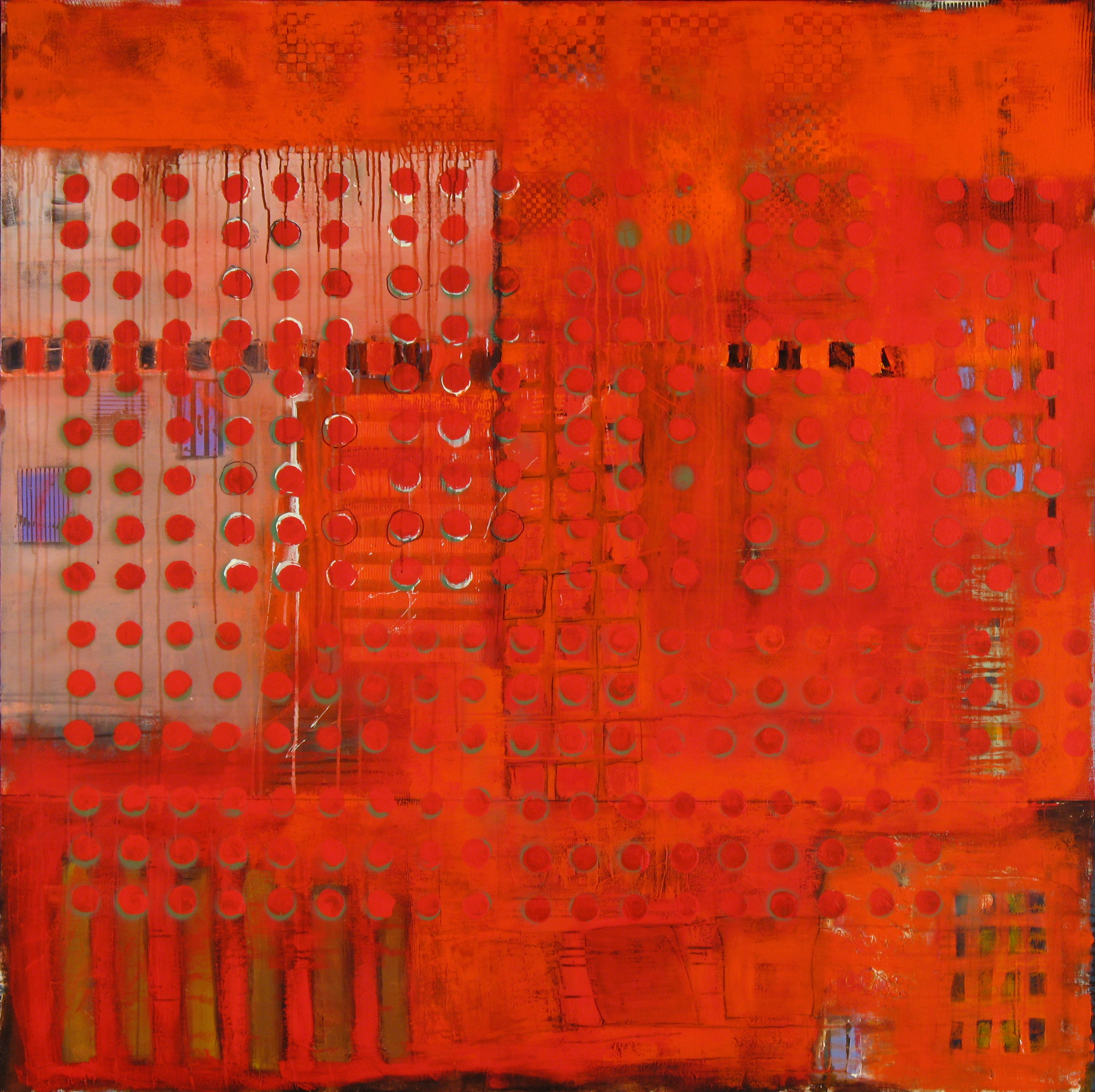 "On Fire | 60"" x 60"" 