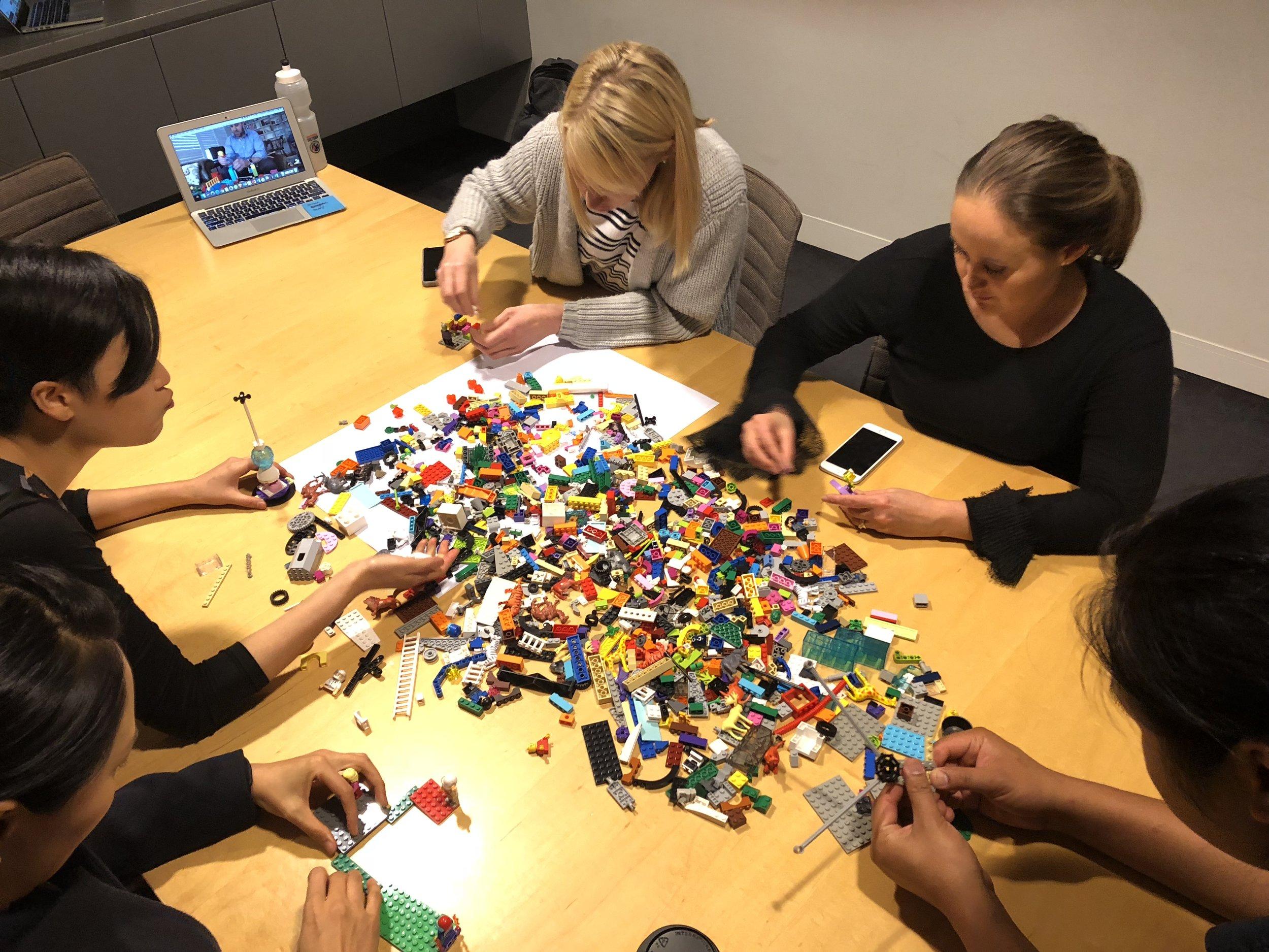MYER's UX Designers building metaphors