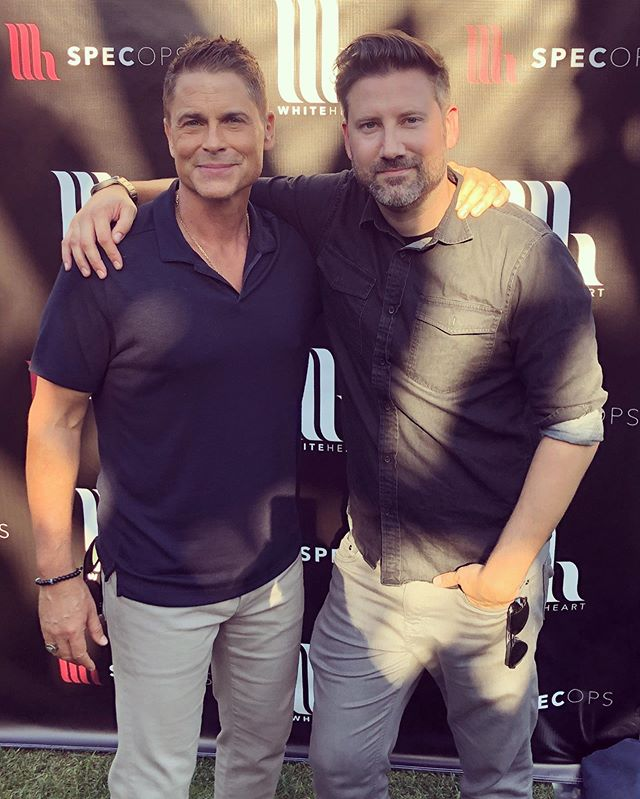 This dude is one of my favorite people. He has supported @whiteheart since it was a venture run out of my apt. Thanks for your support again today, @roblowe @sheryllowejewelry @whiteheart