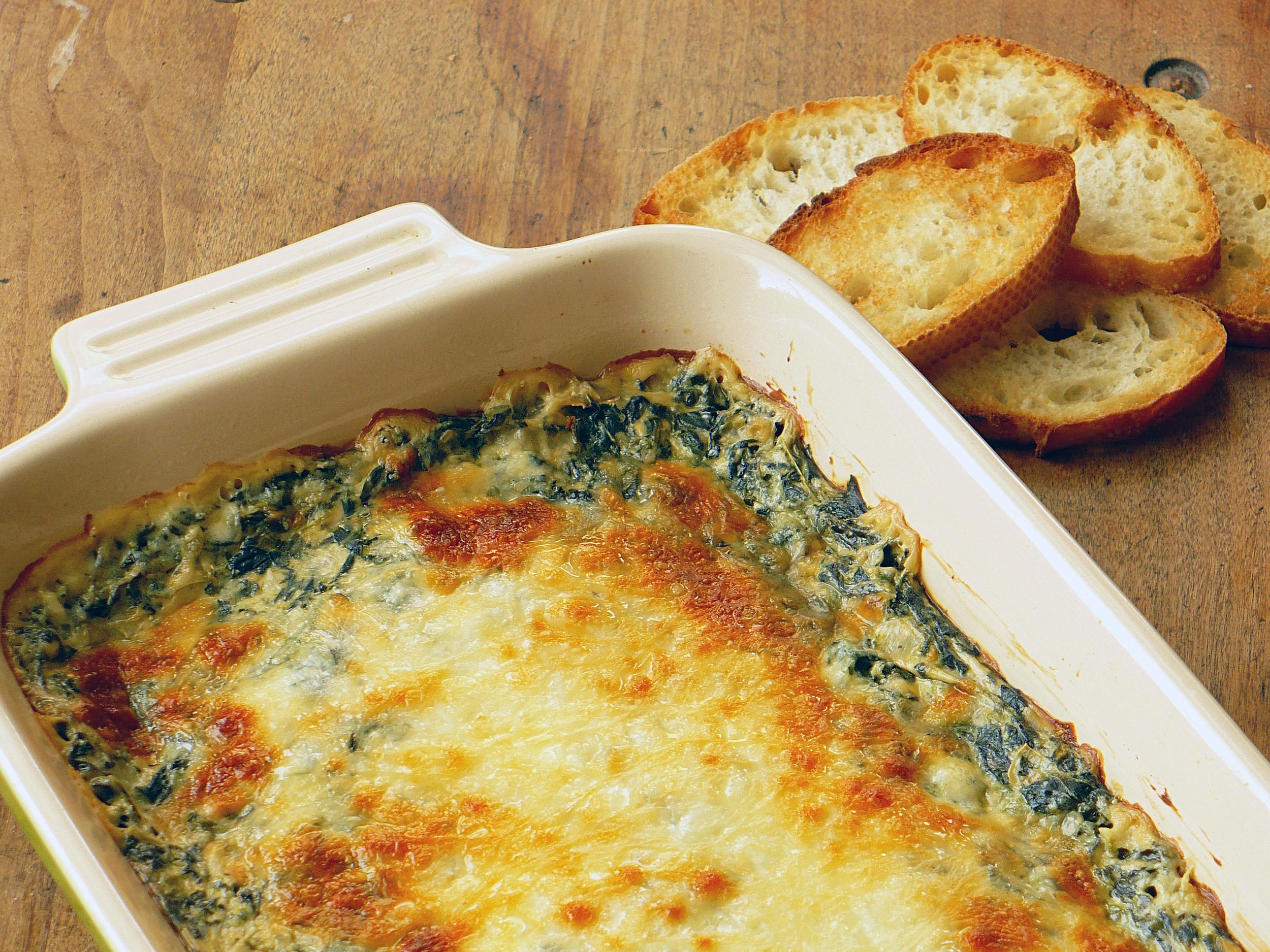 Hot Spinach Dip Recipe