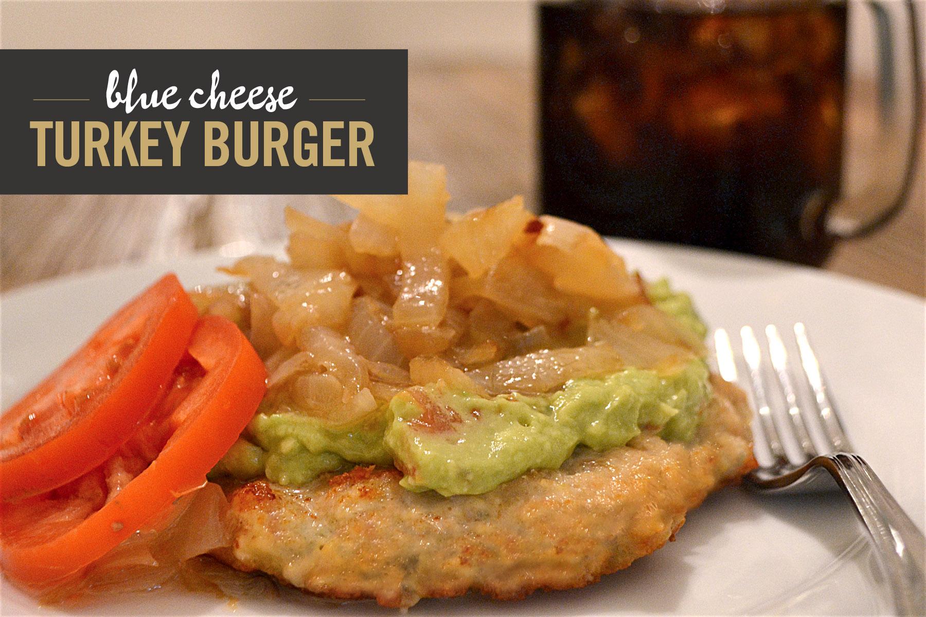Blue Cheese Turkey Burger Recipe