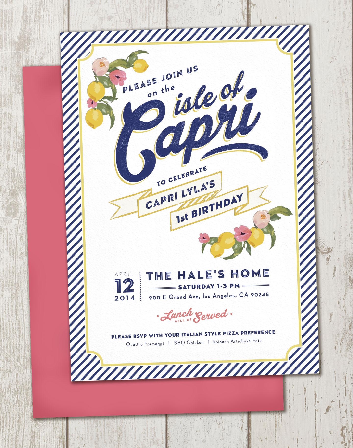 Capri's Birthday West Coast Capri