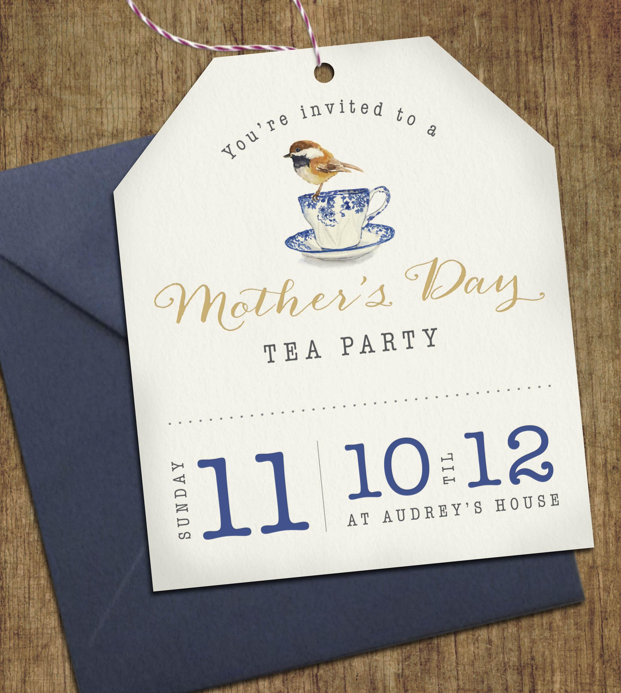 West Coast Capri - Mothers Day Invite