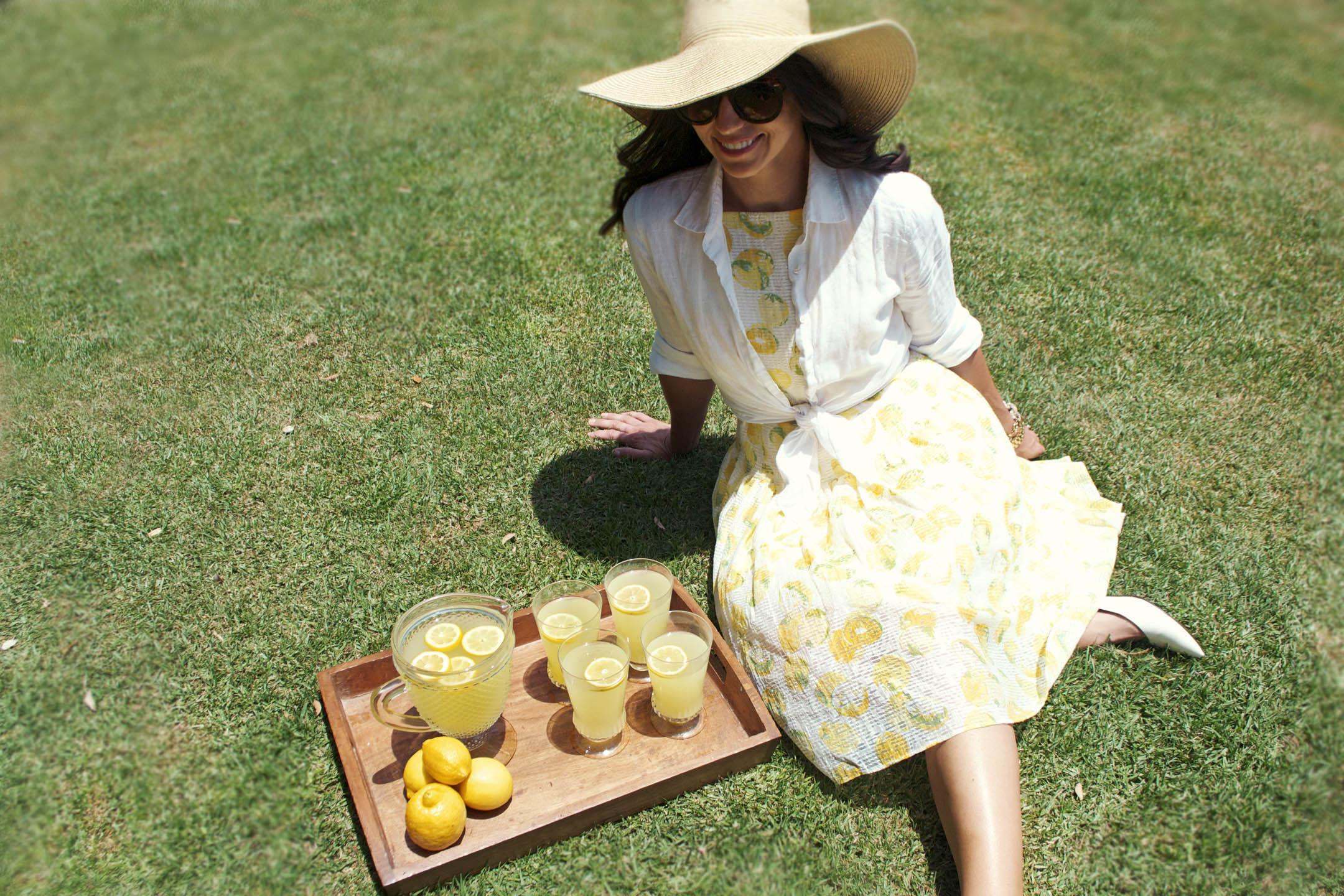 ann taylor lemon dress