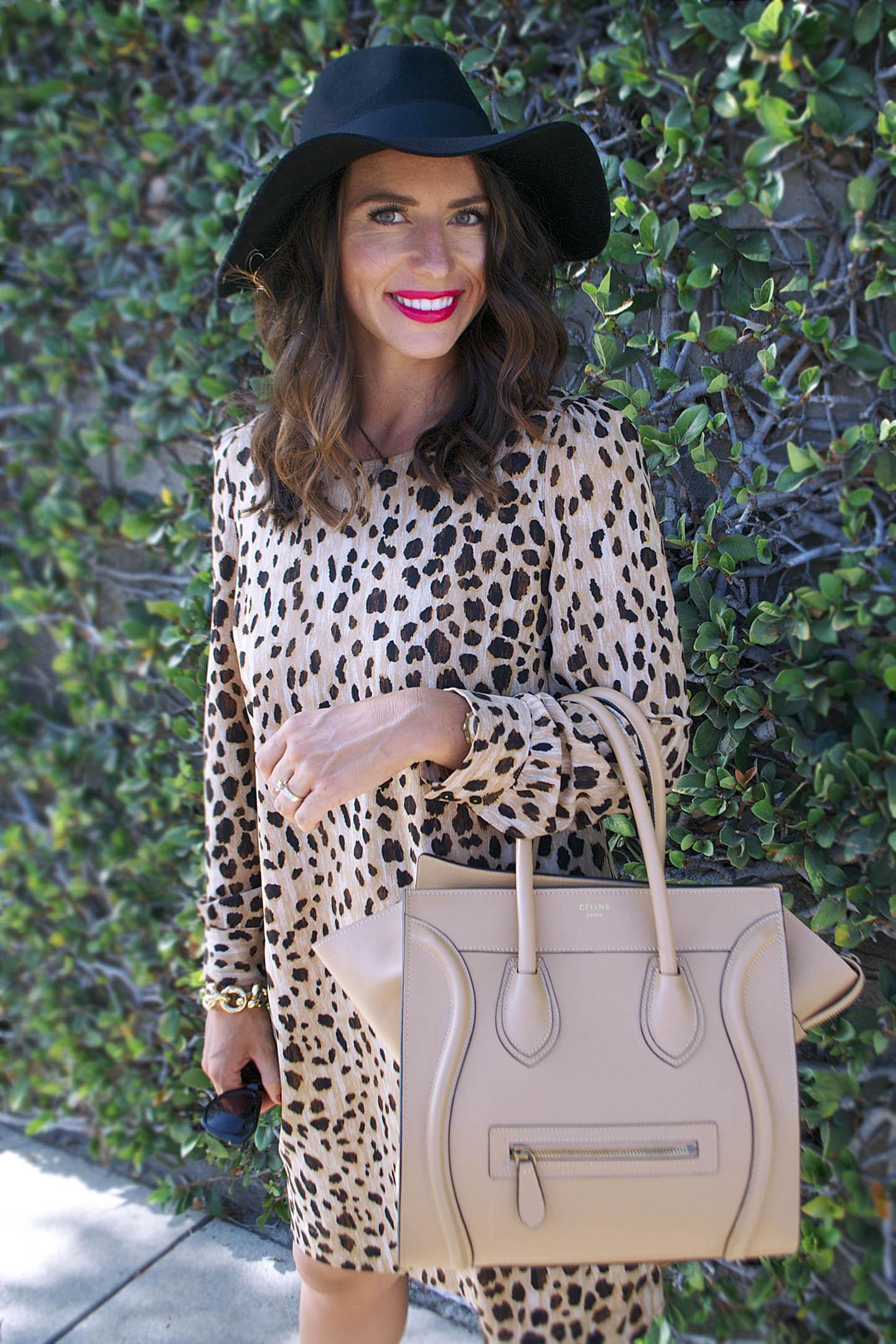 leopard dress fall fashion