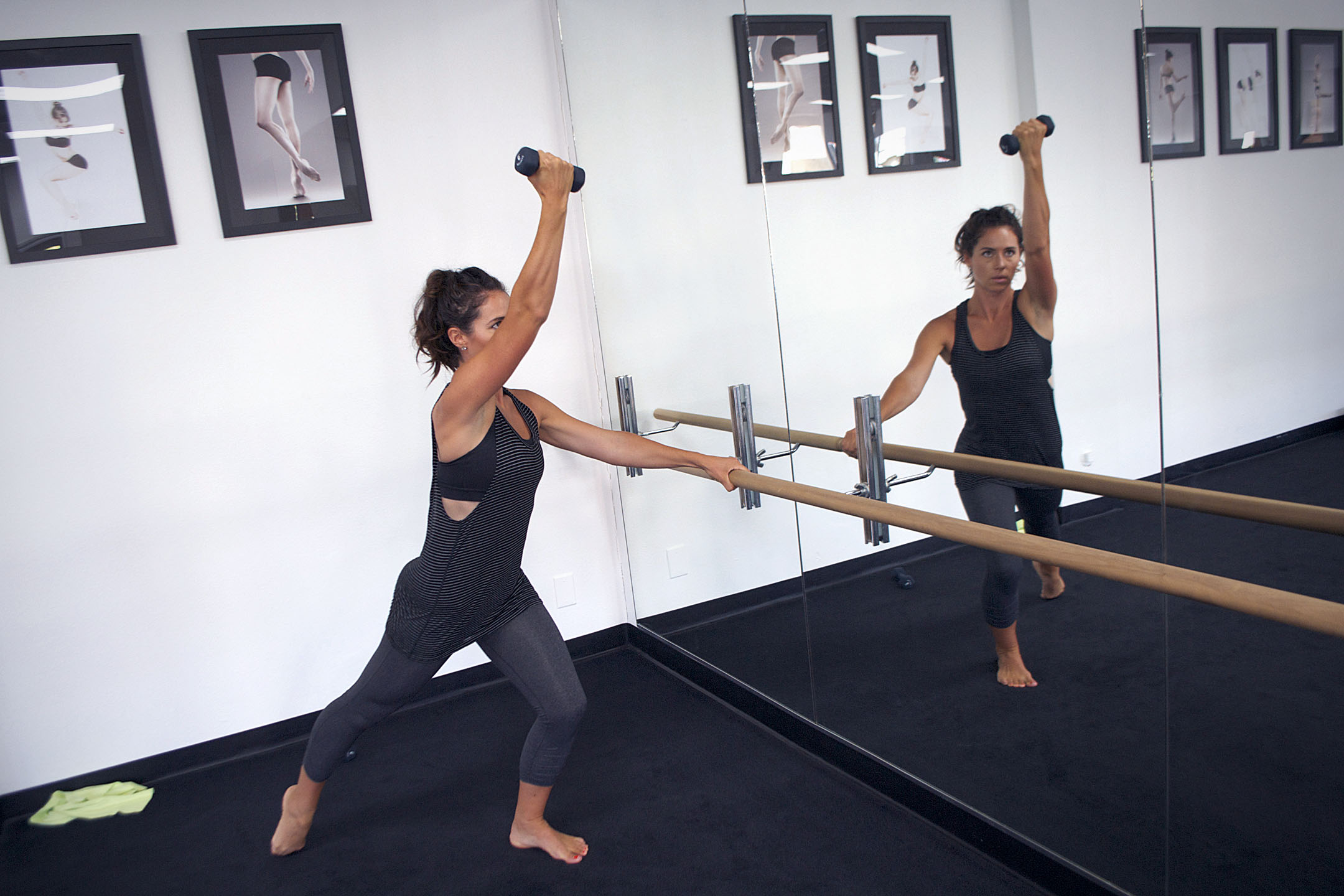 cardio barre exercise