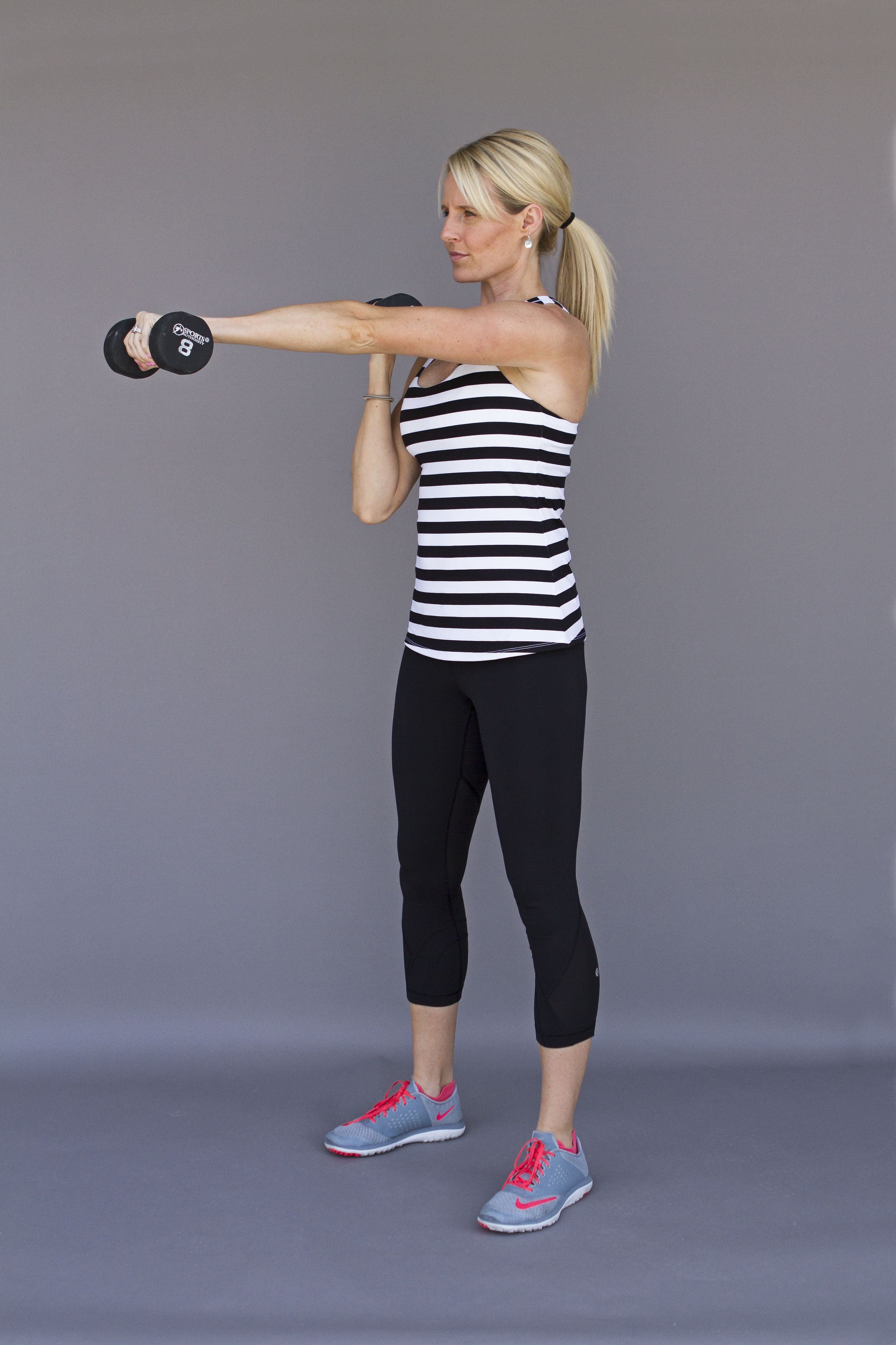 arm workout with dumbbells