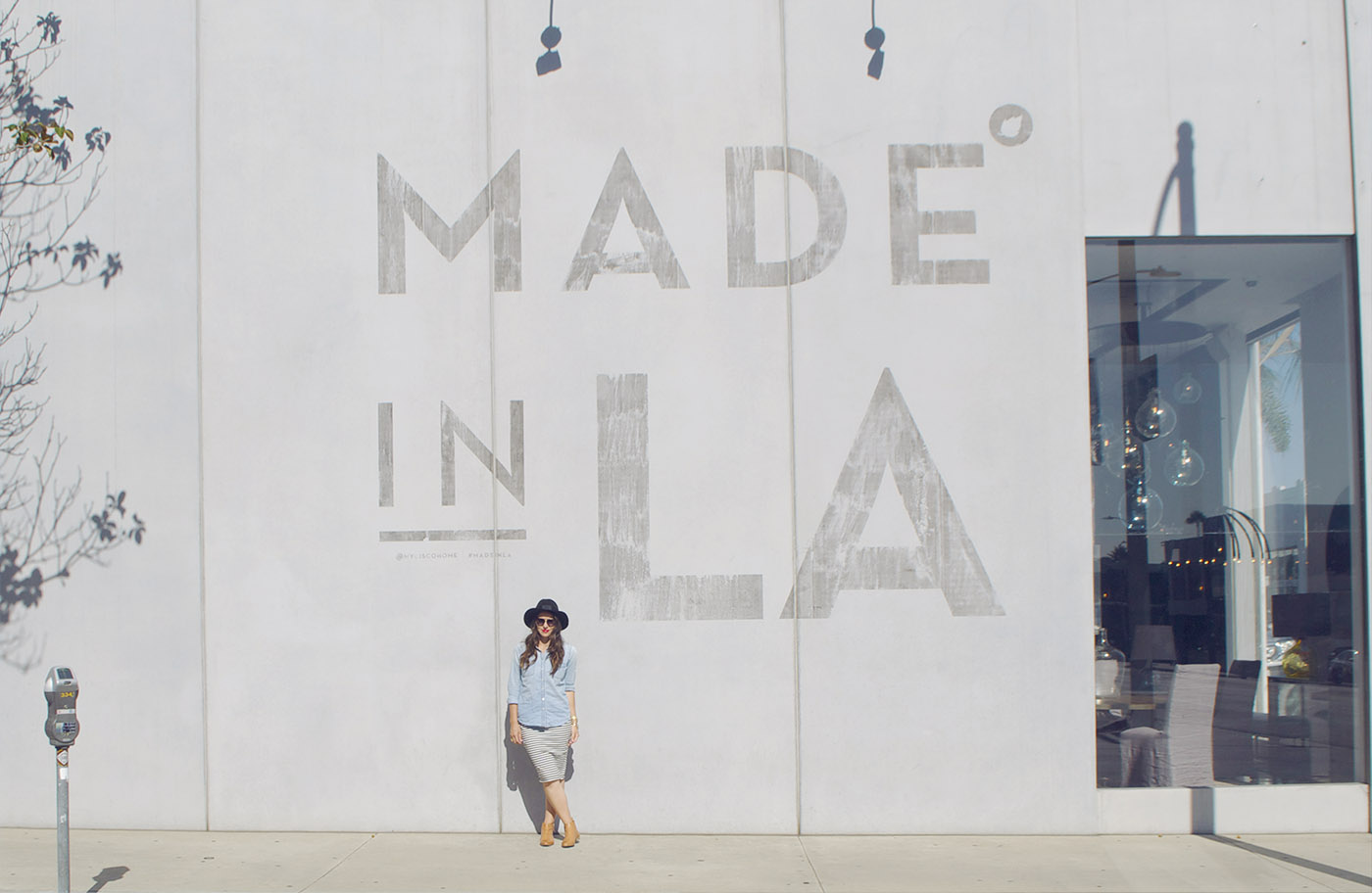 Made in LA sign
