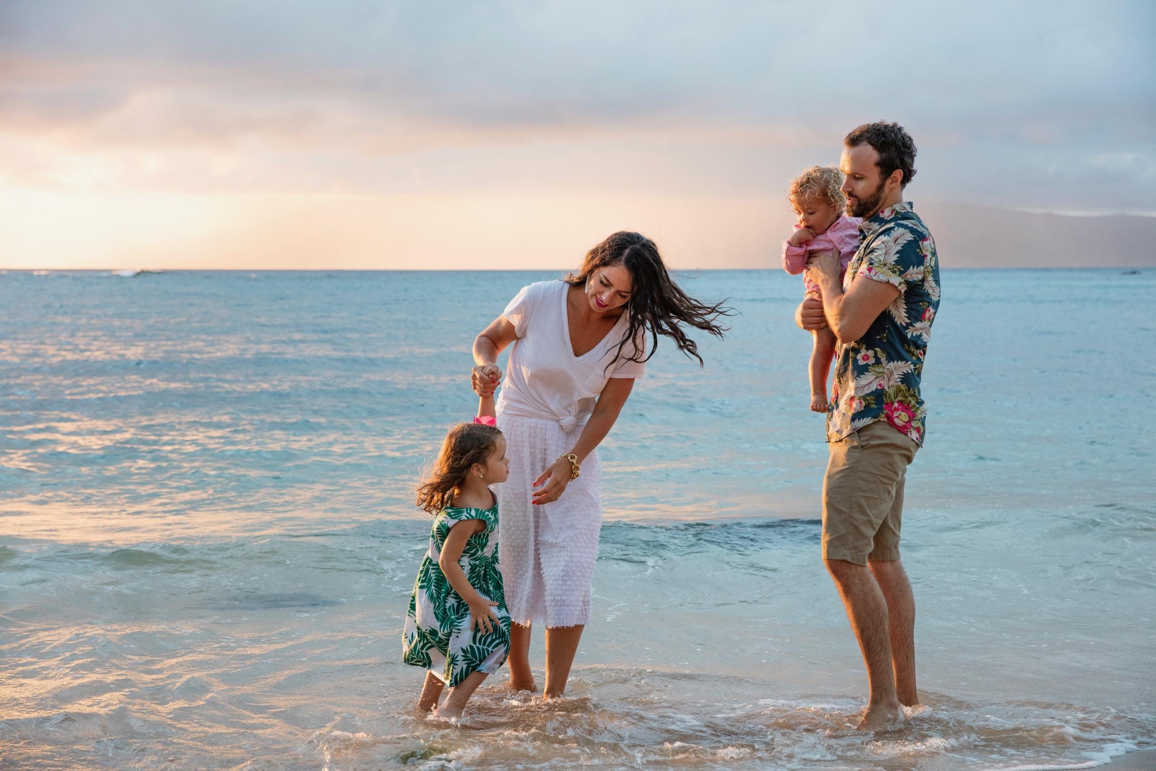 hawaiian family vacation