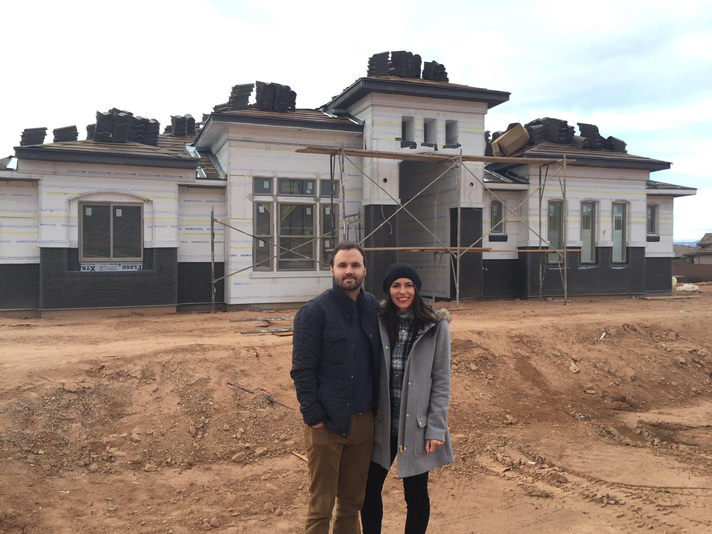 st george utah new home build