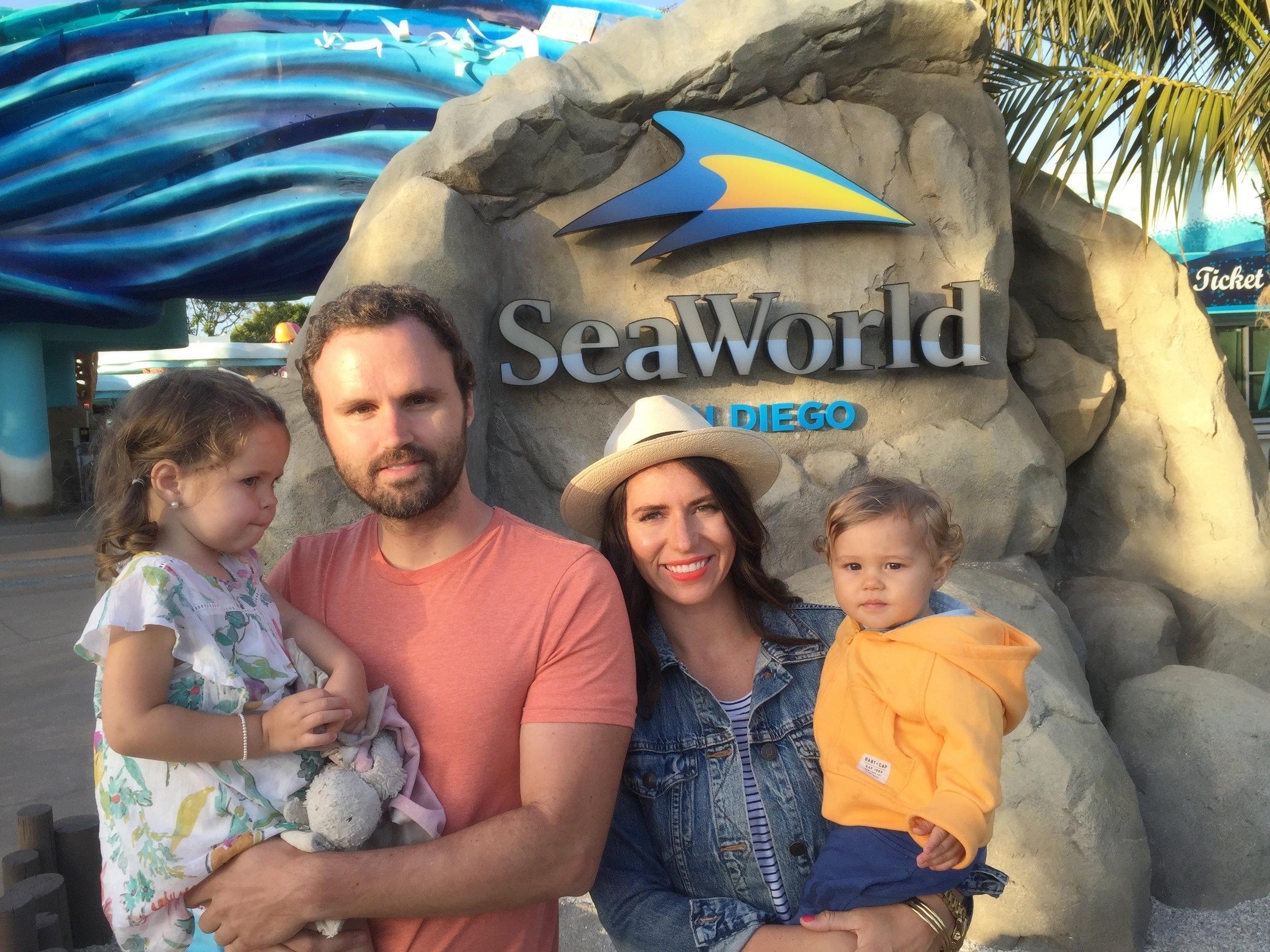 sea world family vacation