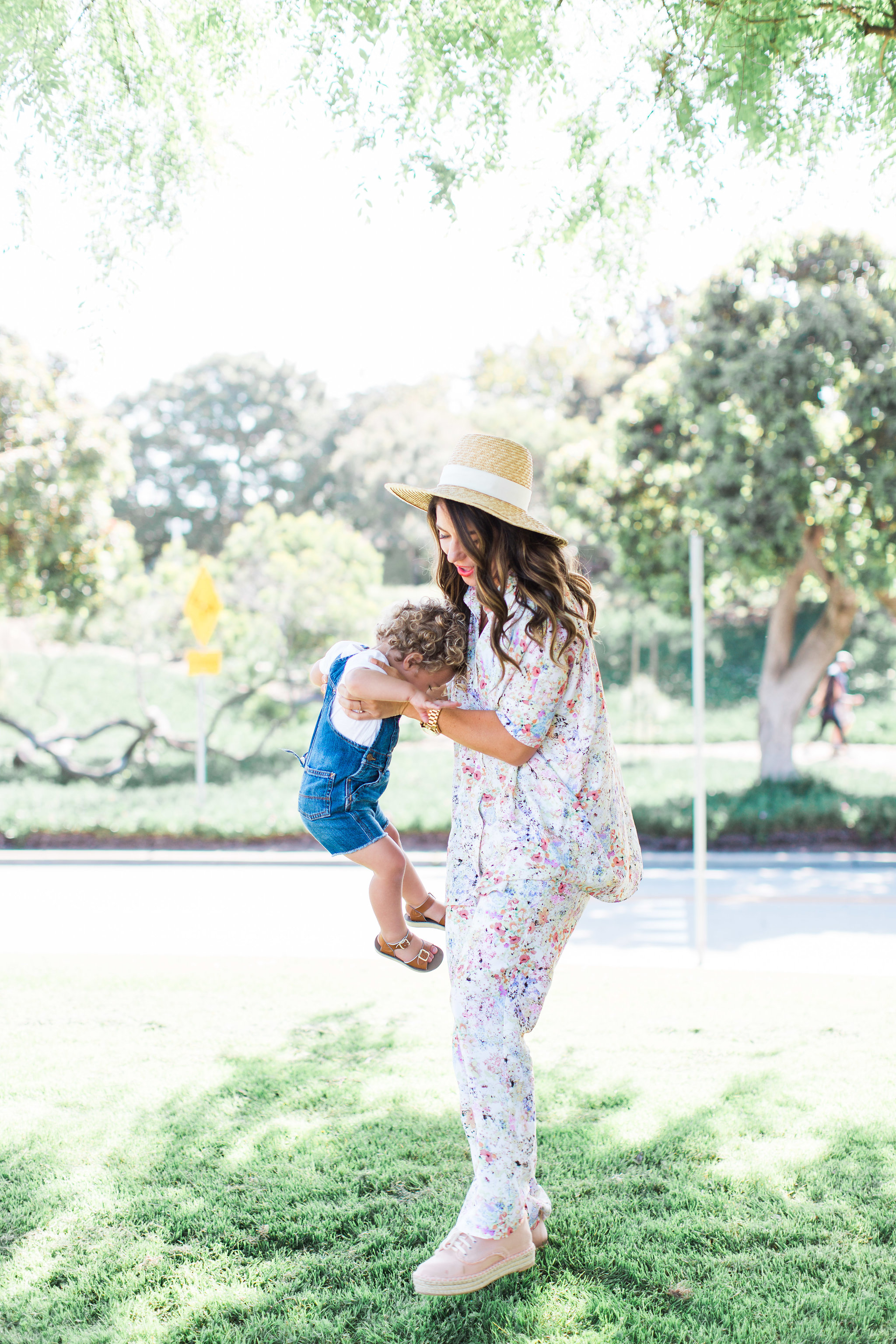 sonnet james pantsuit for playful moms