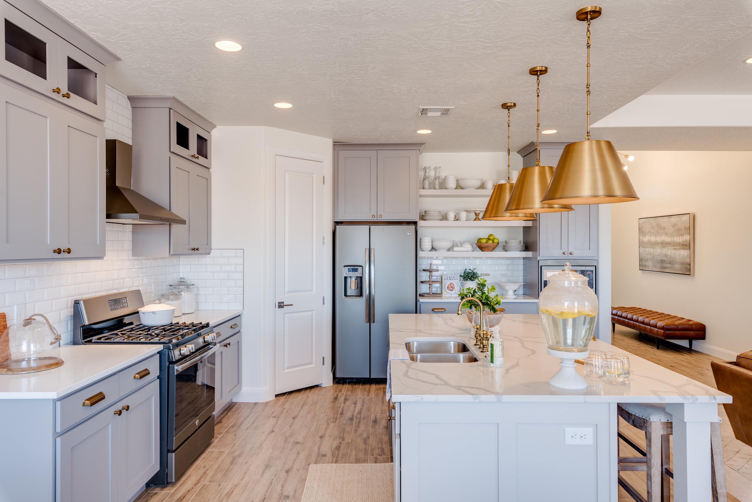 modern kitchen home design