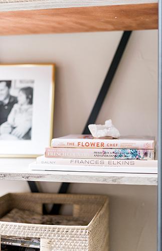 office shelf decor details