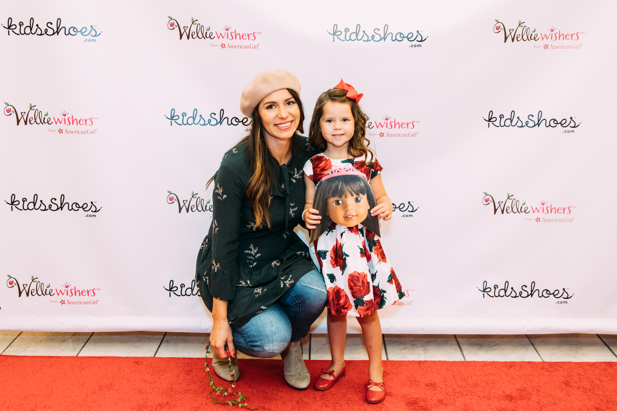 wellie wisher event at american girl doll store