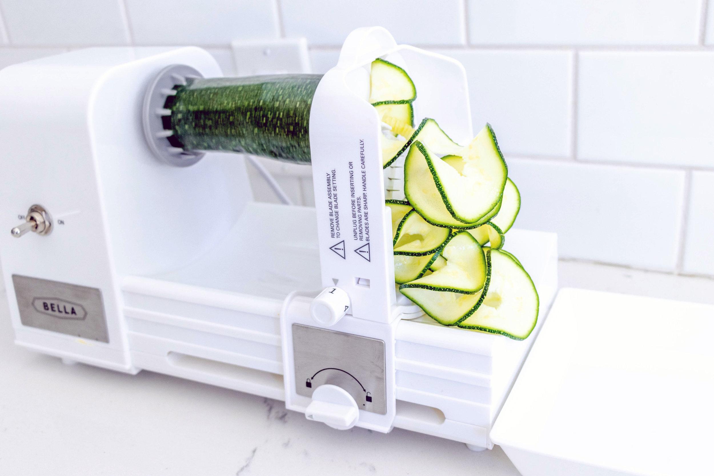 bella automatic spiralizer