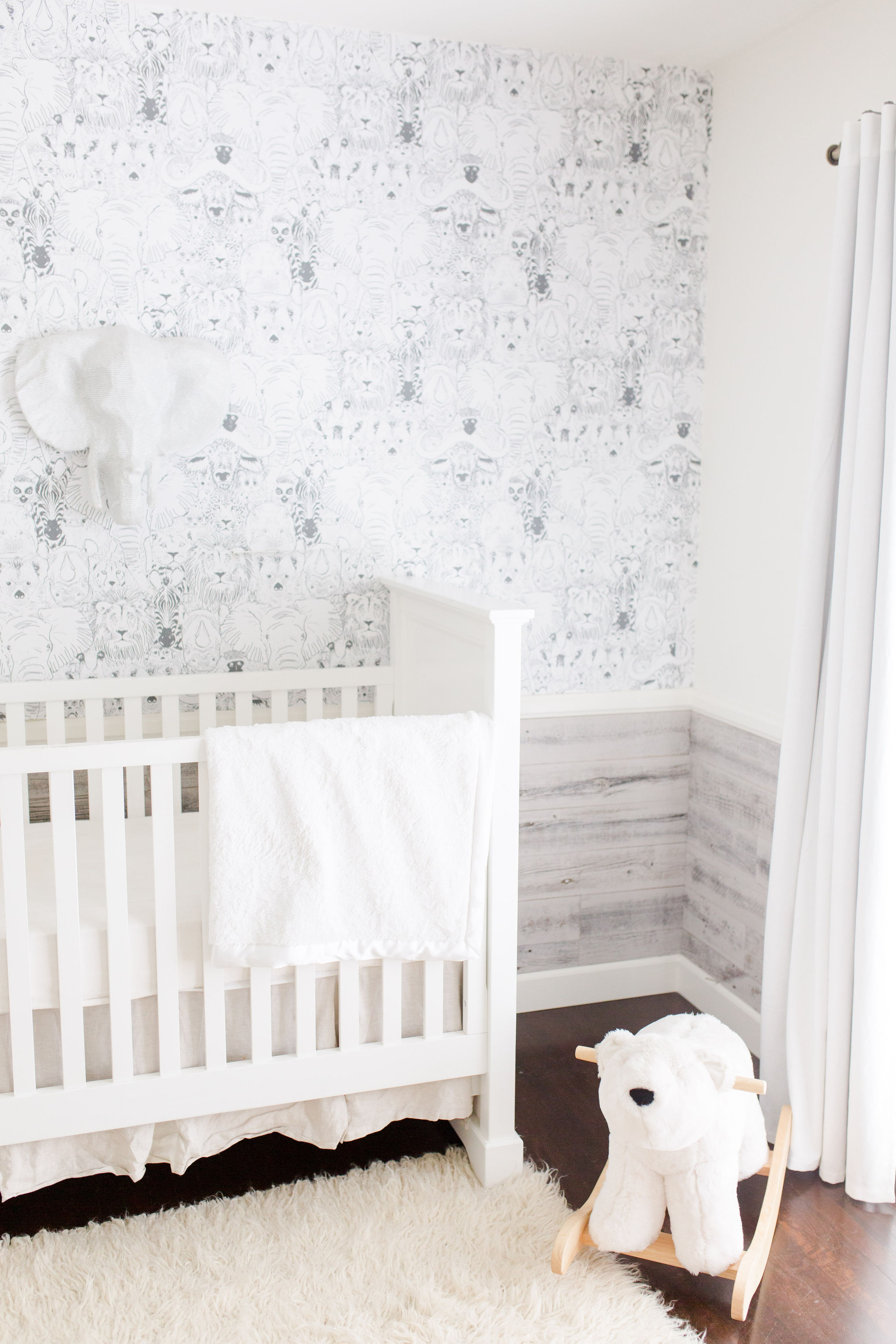 baby boy neutral nursery design